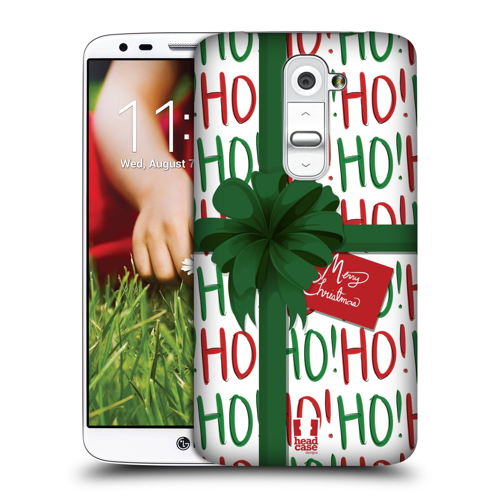 HEAD CASE CHRISTMAS GIFTS PROTECTIVE COVER FOR LG G2 D802