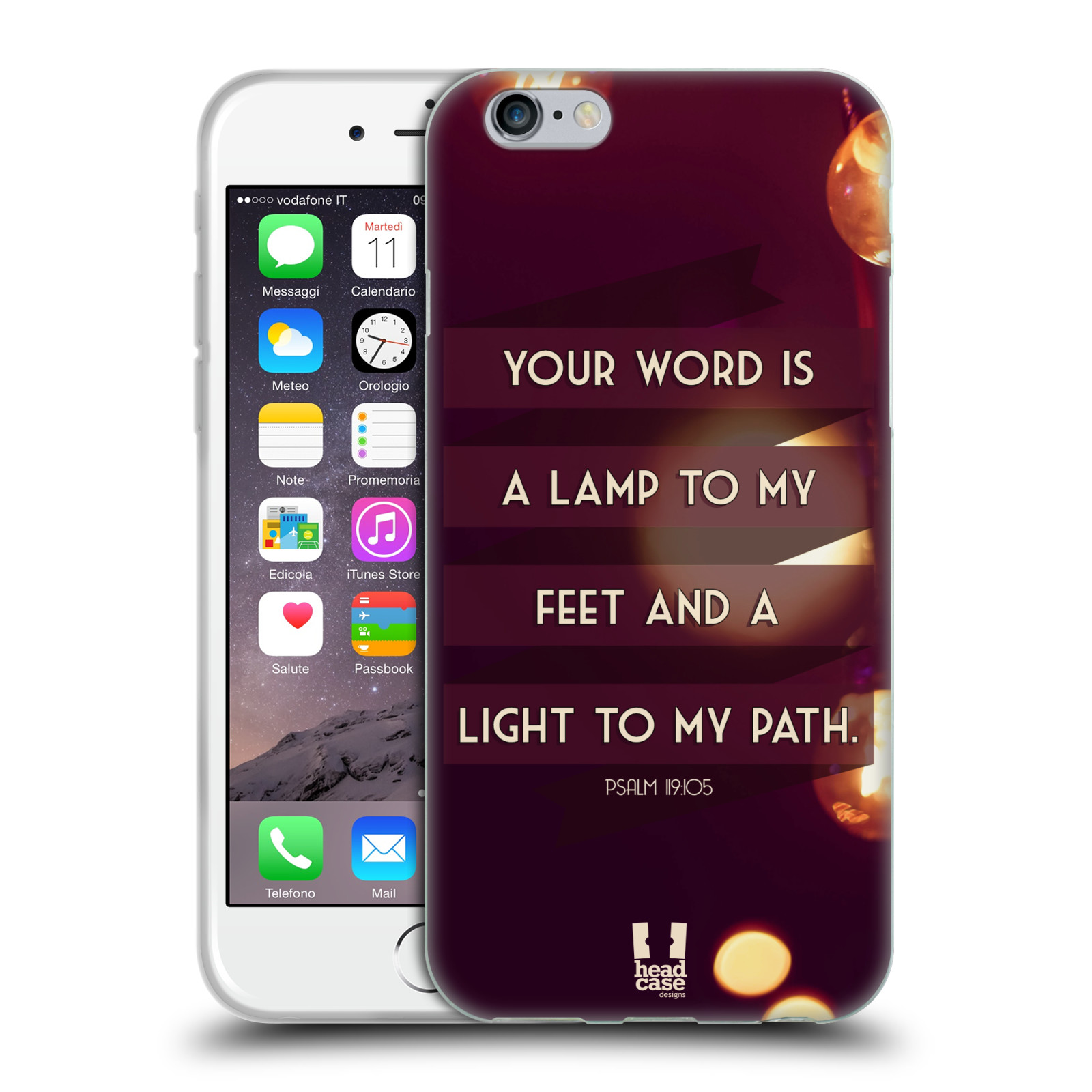 HEAD CASE CHRISTIAN TYPOGRAPHY SERIES 1 SILICONE GEL CASE FOR APPLE iPHONE 6 4.7