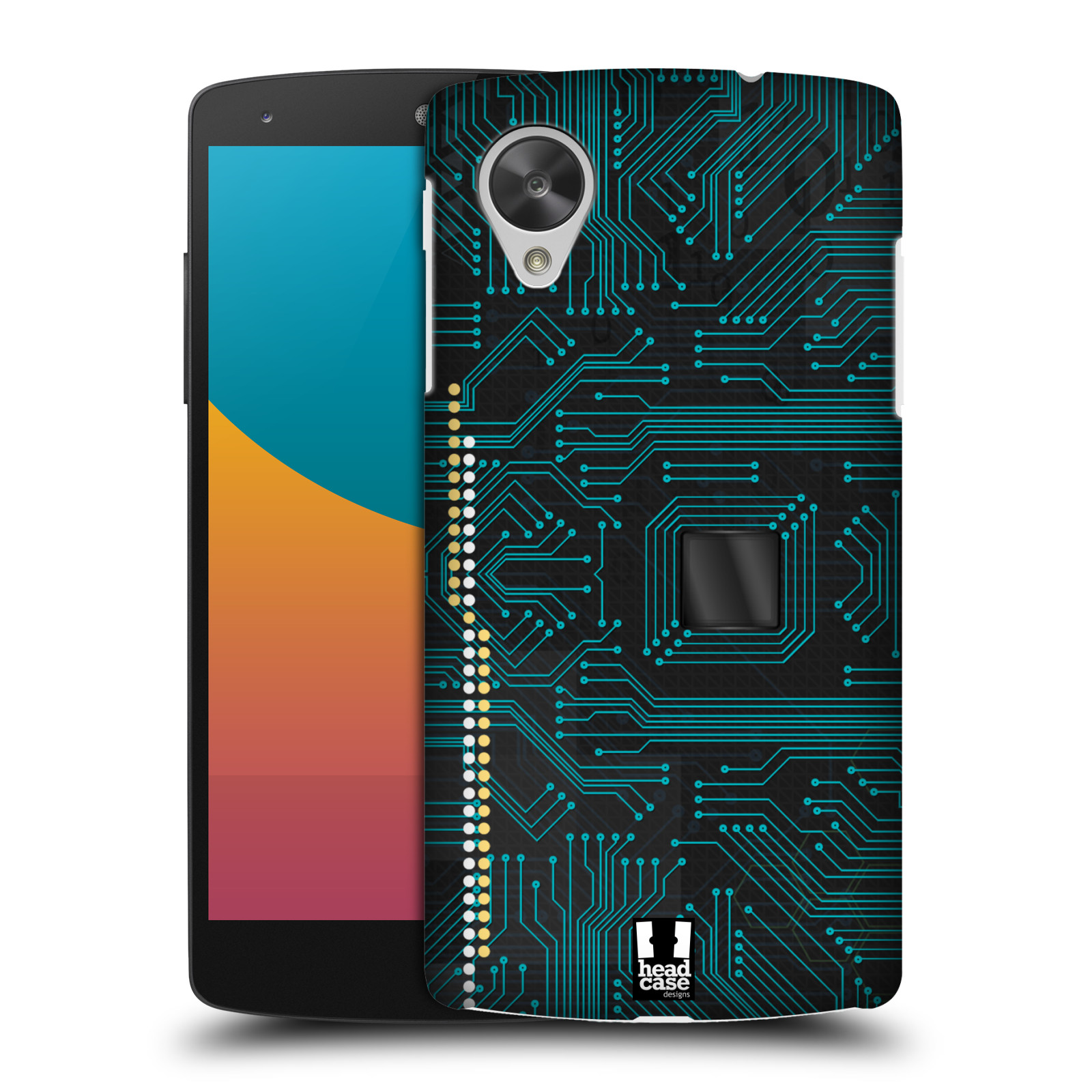 HEAD CASE DESIGNS CIRCUIT BOARD CASE COVER FOR LG GOOGLE NEXUS 5 D821