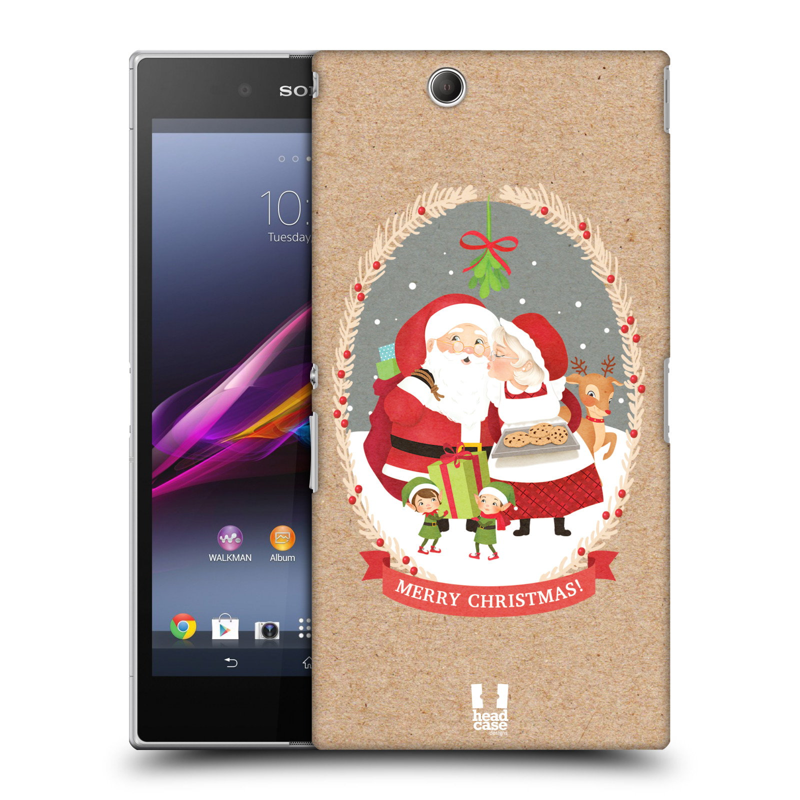 HEAD CASE DESIGNS CHRISTMAS CLASSICS 2 CASE COVER FOR SONY XPERIA Z ULTRA C6802