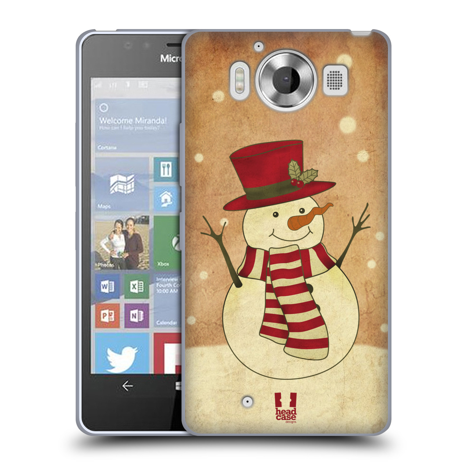 HEAD CASE DESIGNS CHRISTMAS CLASSICS SOFT GEL CASE FOR MICROSOFT LUMIA 950