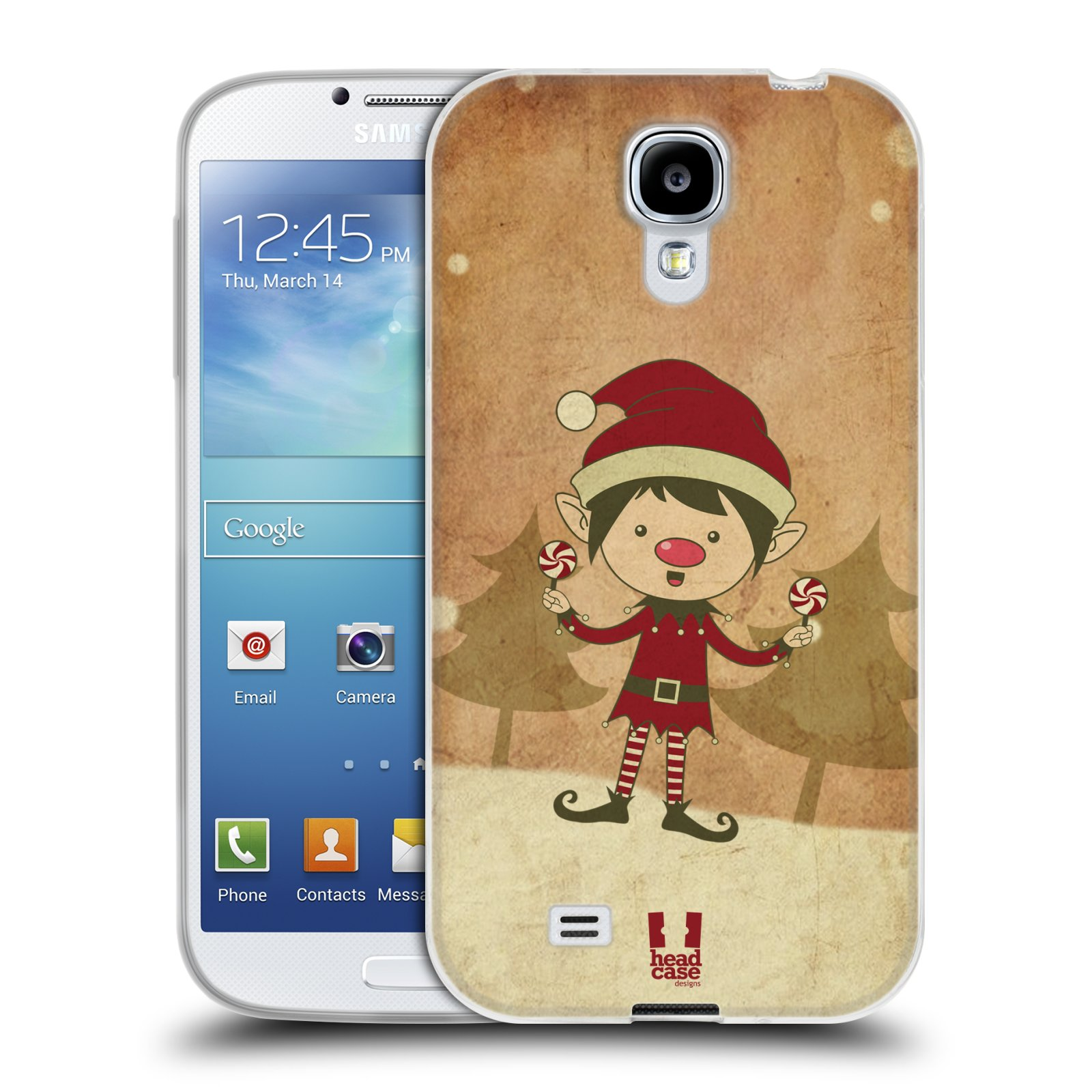 HEAD CASE CHRISTMAS CLASSICS GEL BACK CASE COVER FOR SAMSUNG GALAXY S4 I9500