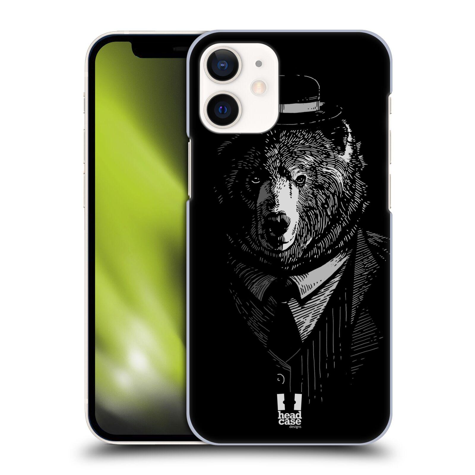 Plastový obal na mobil Apple Iphone 12 MINI vzor Zvíře v obleku medvěd