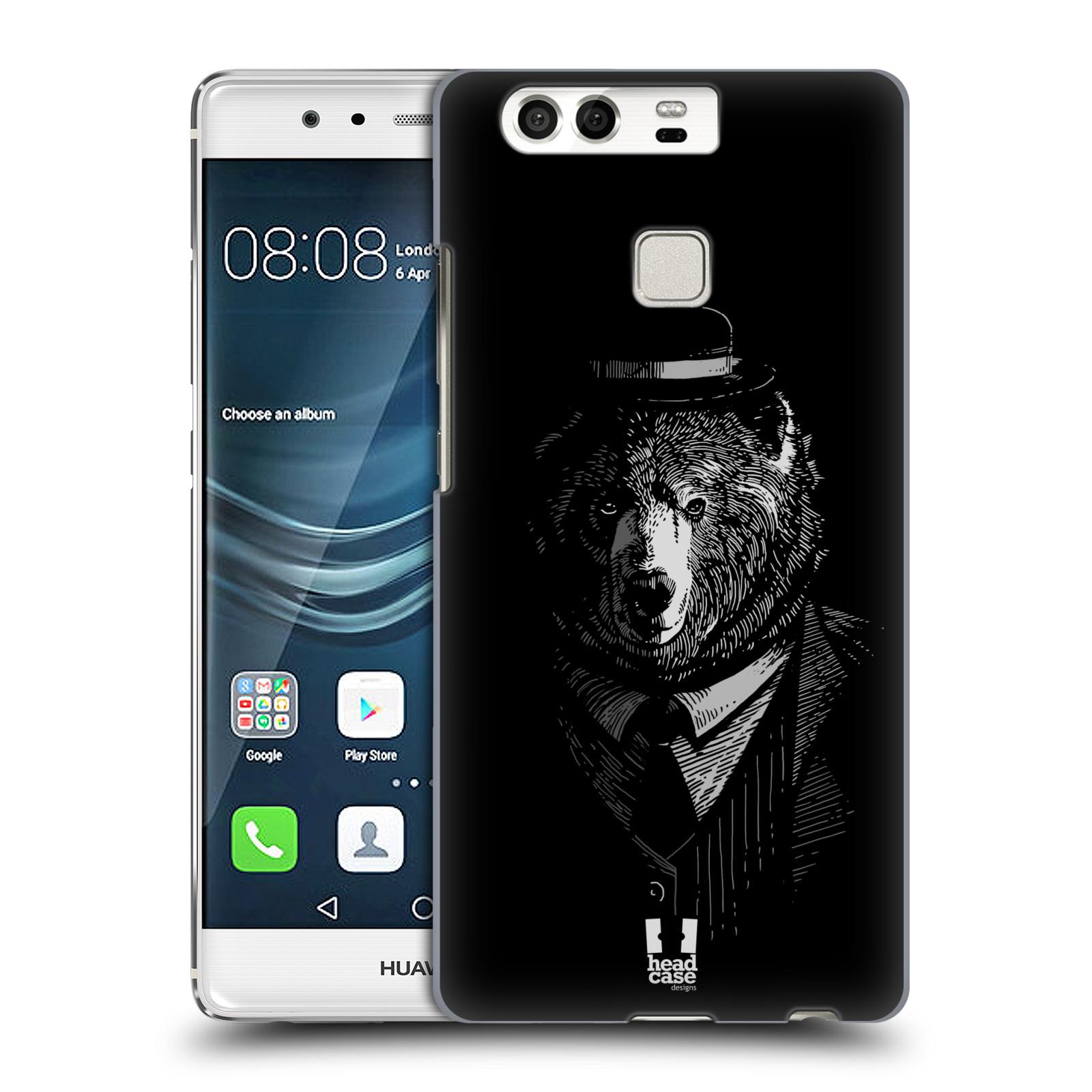 HEAD CASE plastový obal na mobil Huawei P9 / P9 DUAL SIM vzor Zvíře v obleku medvěd