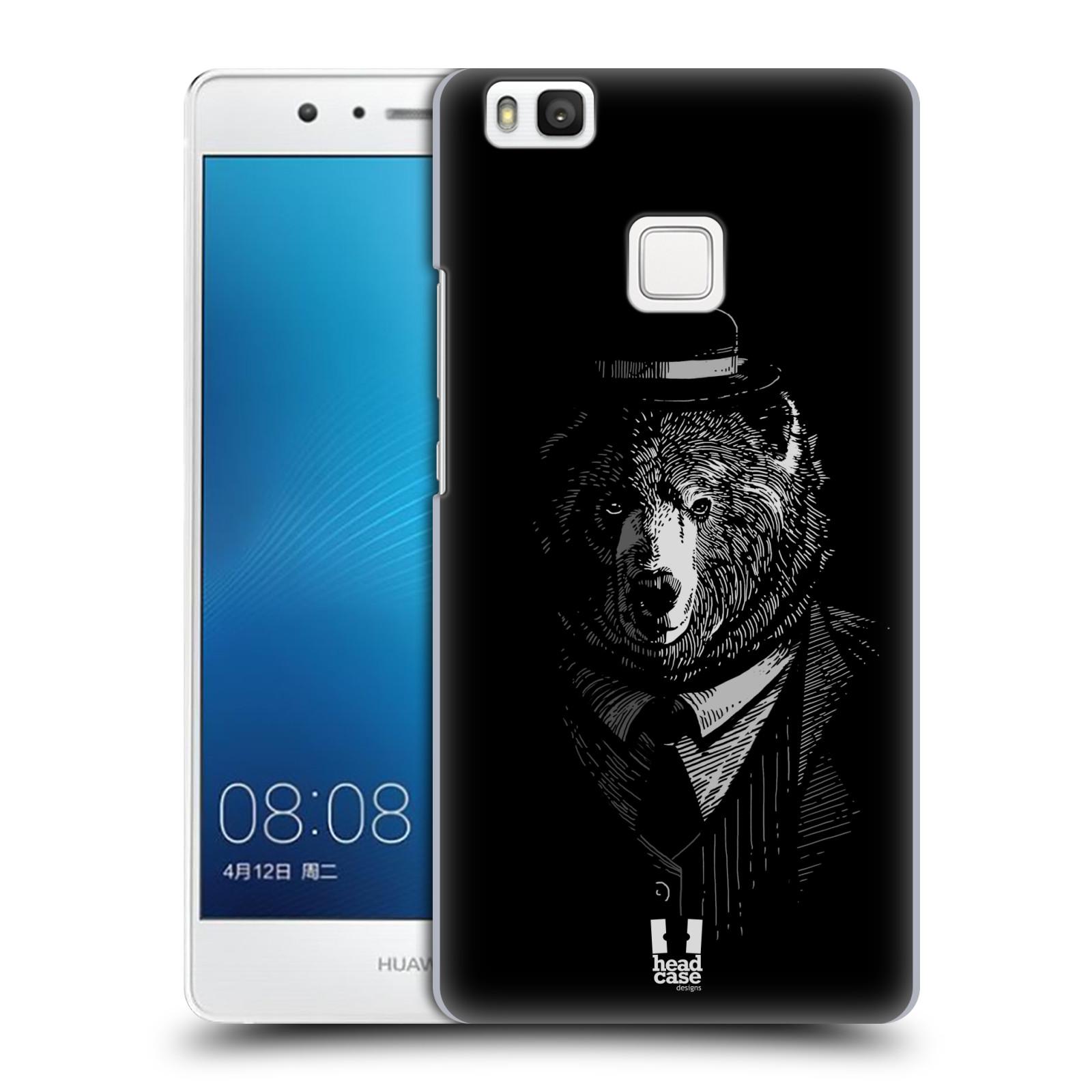 HEAD CASE plastový obal na mobil Huawei P9 LITE / P9 LITE DUAL SIM vzor Zvíře v obleku medvěd