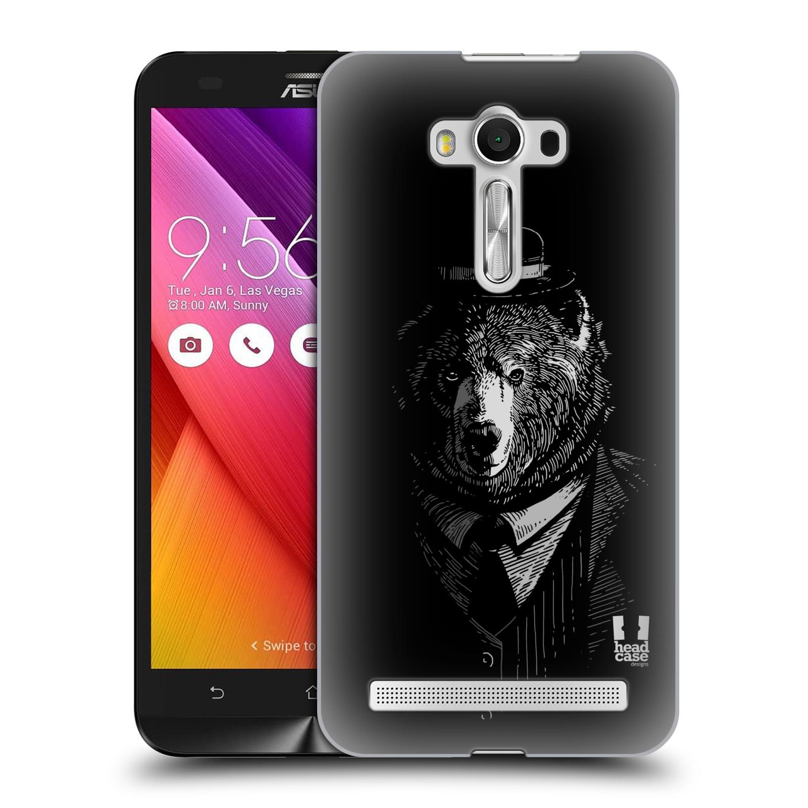 HEAD CASE plastový obal na mobil Asus Zenfone 2 LASER (5,5 displej ZE550KL) vzor Zvíře v obleku medvěd