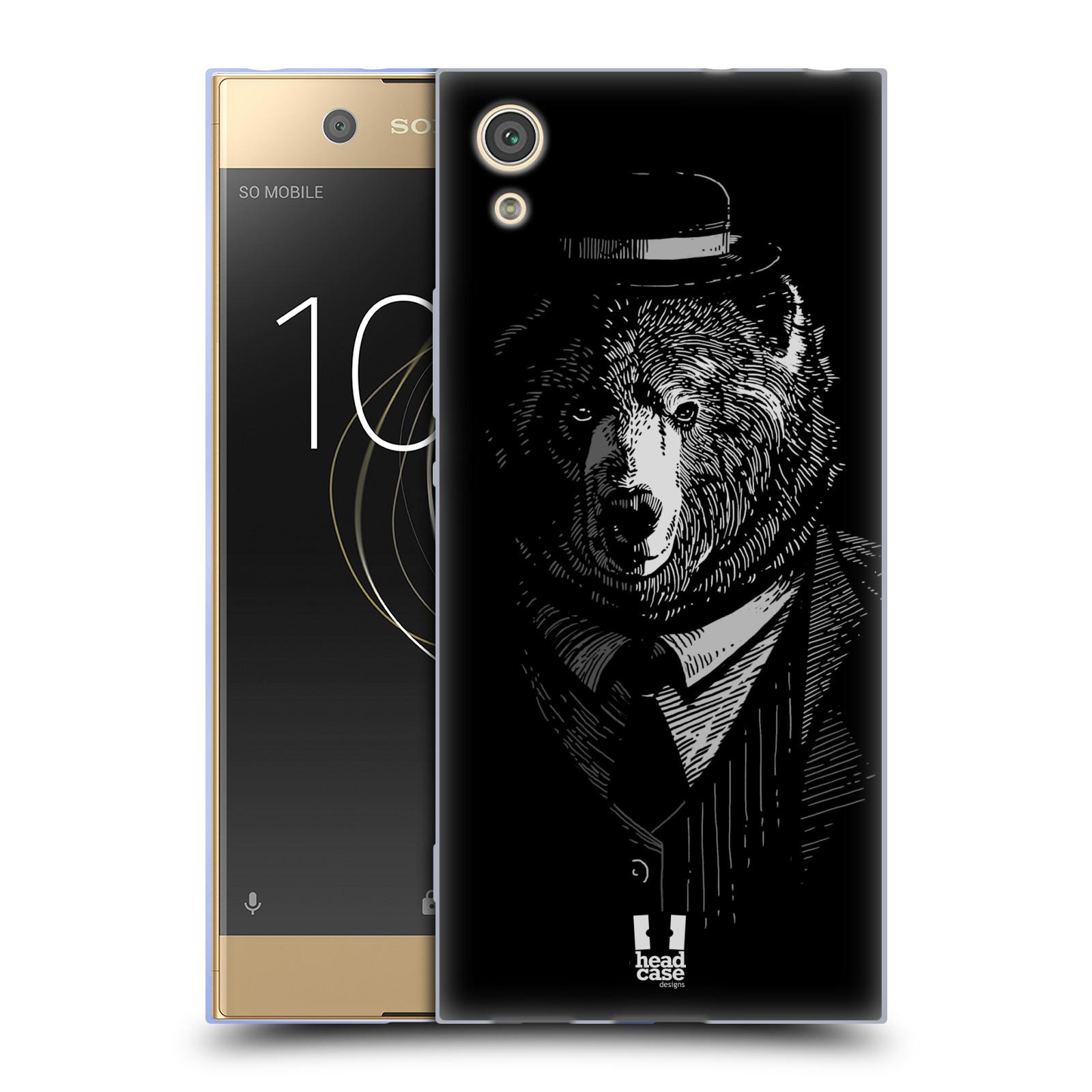 HEAD CASE silikonový obal na mobil Sony Xperia XA1 / XA1 DUAL SIM vzor Zvíře v obleku medvěd