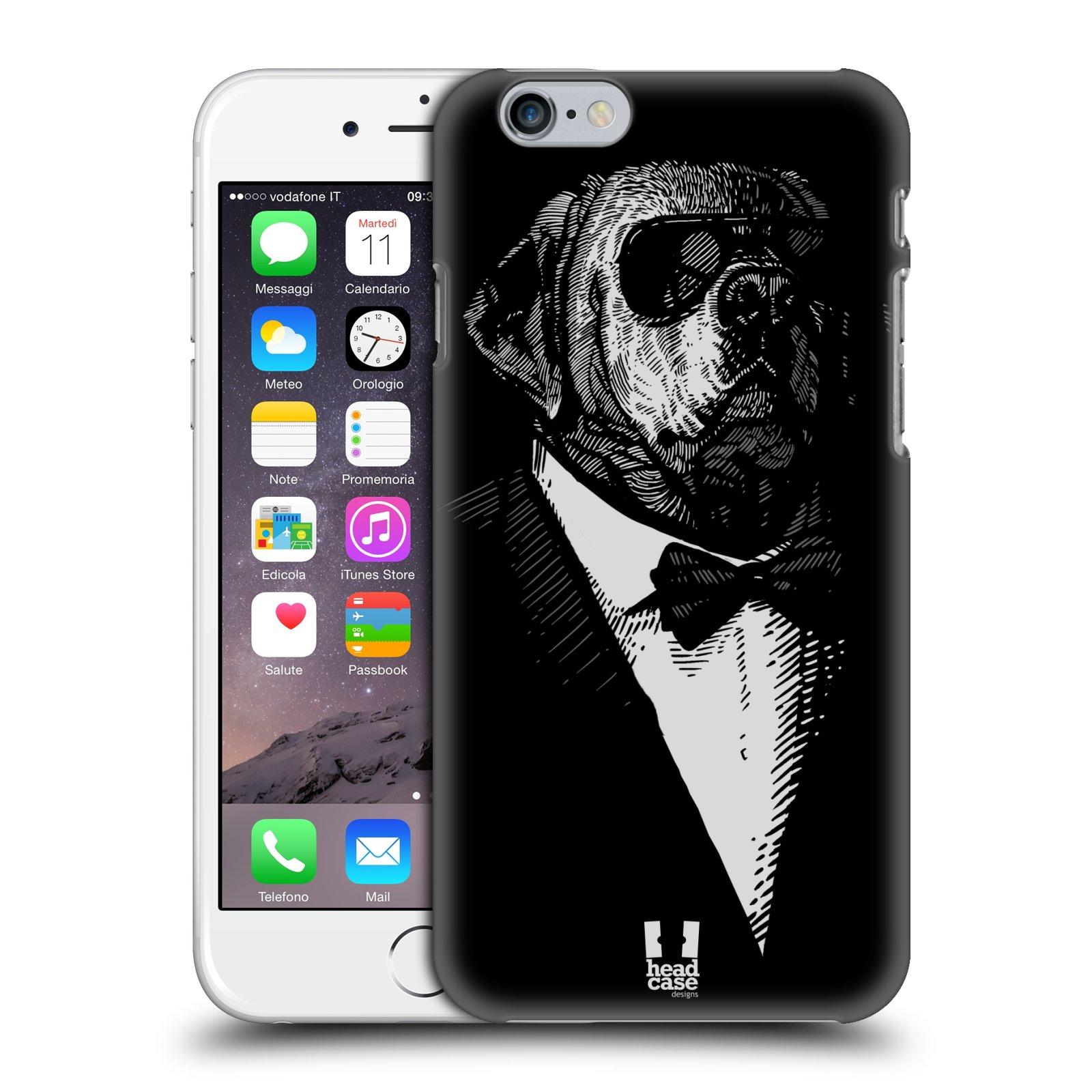 Plastové pouzdro pro mobil Apple Iphone 6/6S vzor Zvíře v obleku pes
