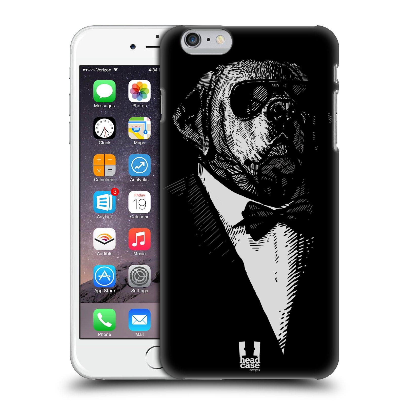 Plastové pouzdro pro mobil Apple Iphone 6 PLUS / 6S PLUS vzor Zvíře v obleku pes