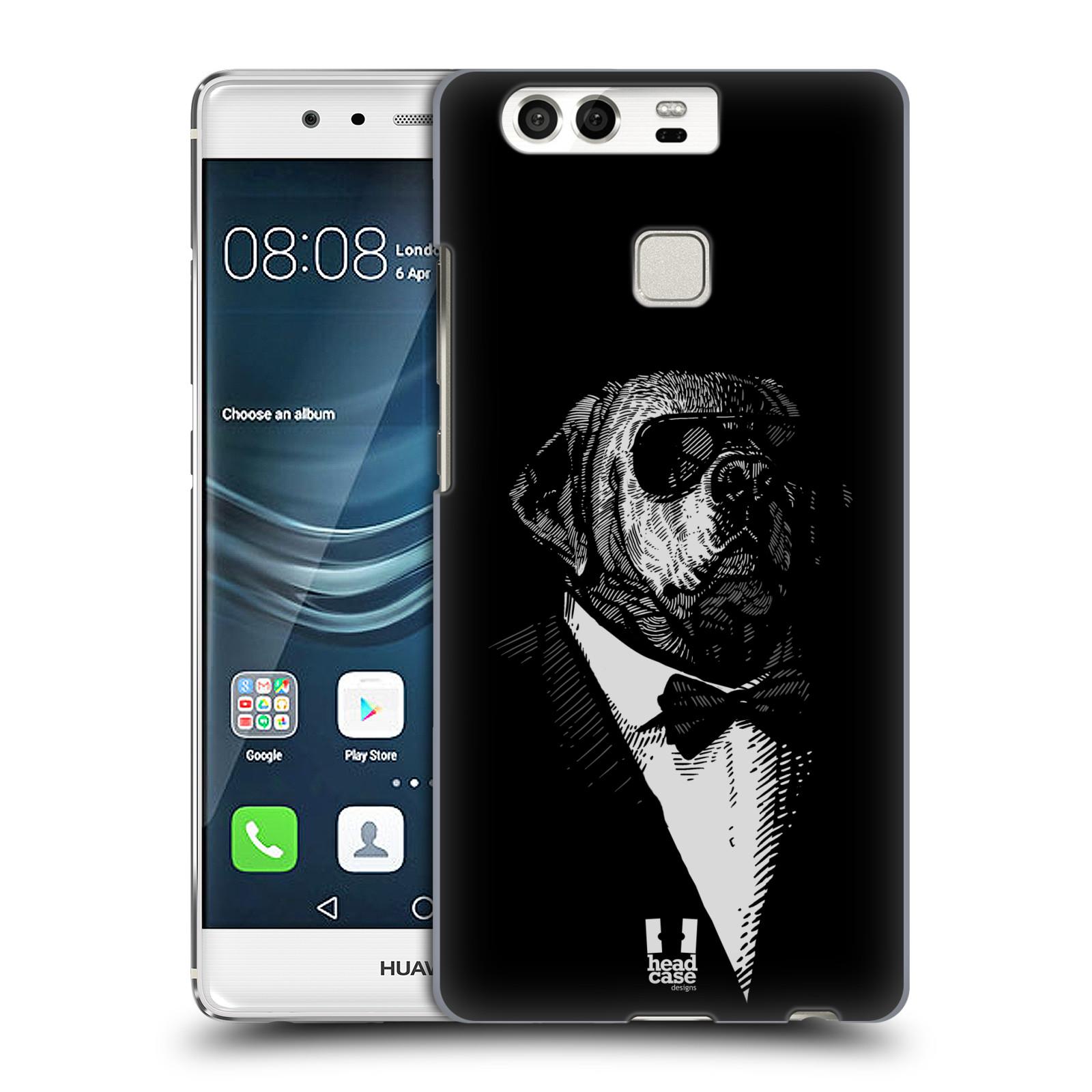 HEAD CASE plastový obal na mobil Huawei P9 / P9 DUAL SIM vzor Zvíře v obleku pes