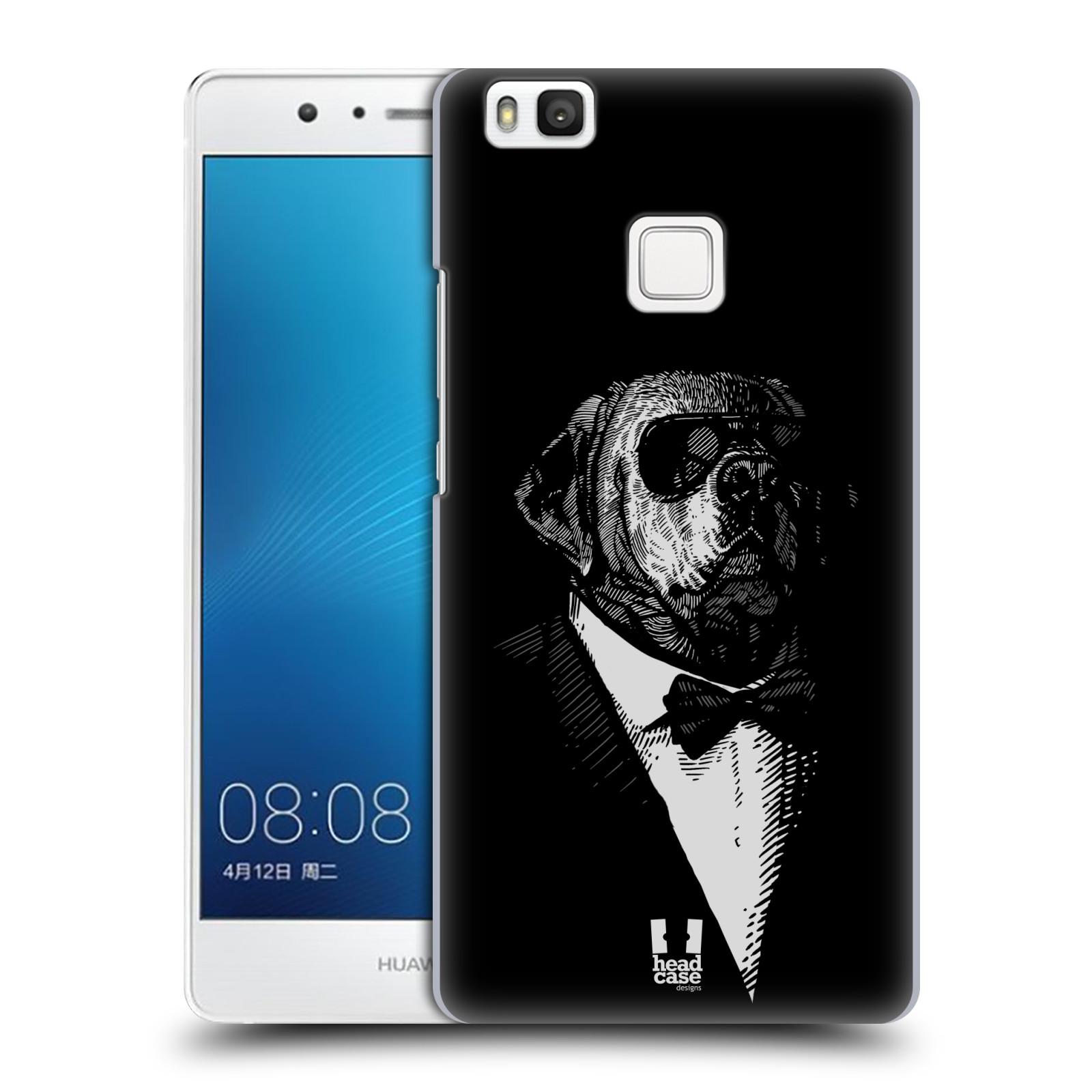 HEAD CASE plastový obal na mobil Huawei P9 LITE / P9 LITE DUAL SIM vzor Zvíře v obleku pes