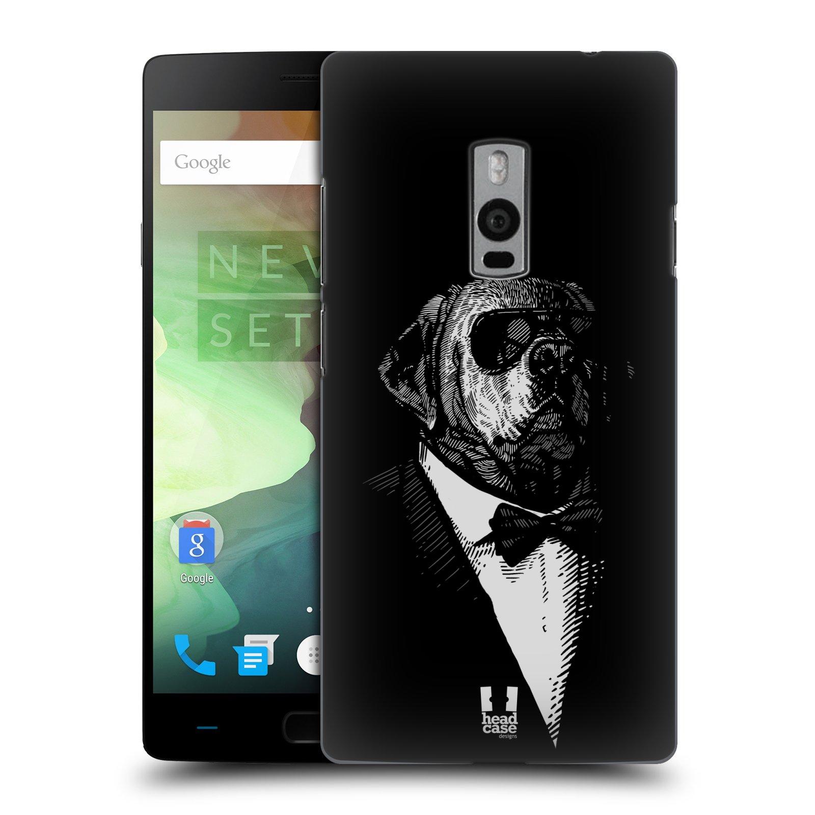 HEAD CASE pevný plastový obal na mobil OnePlus 2  ( TWO ) vzor Zvíře v obleku pes
