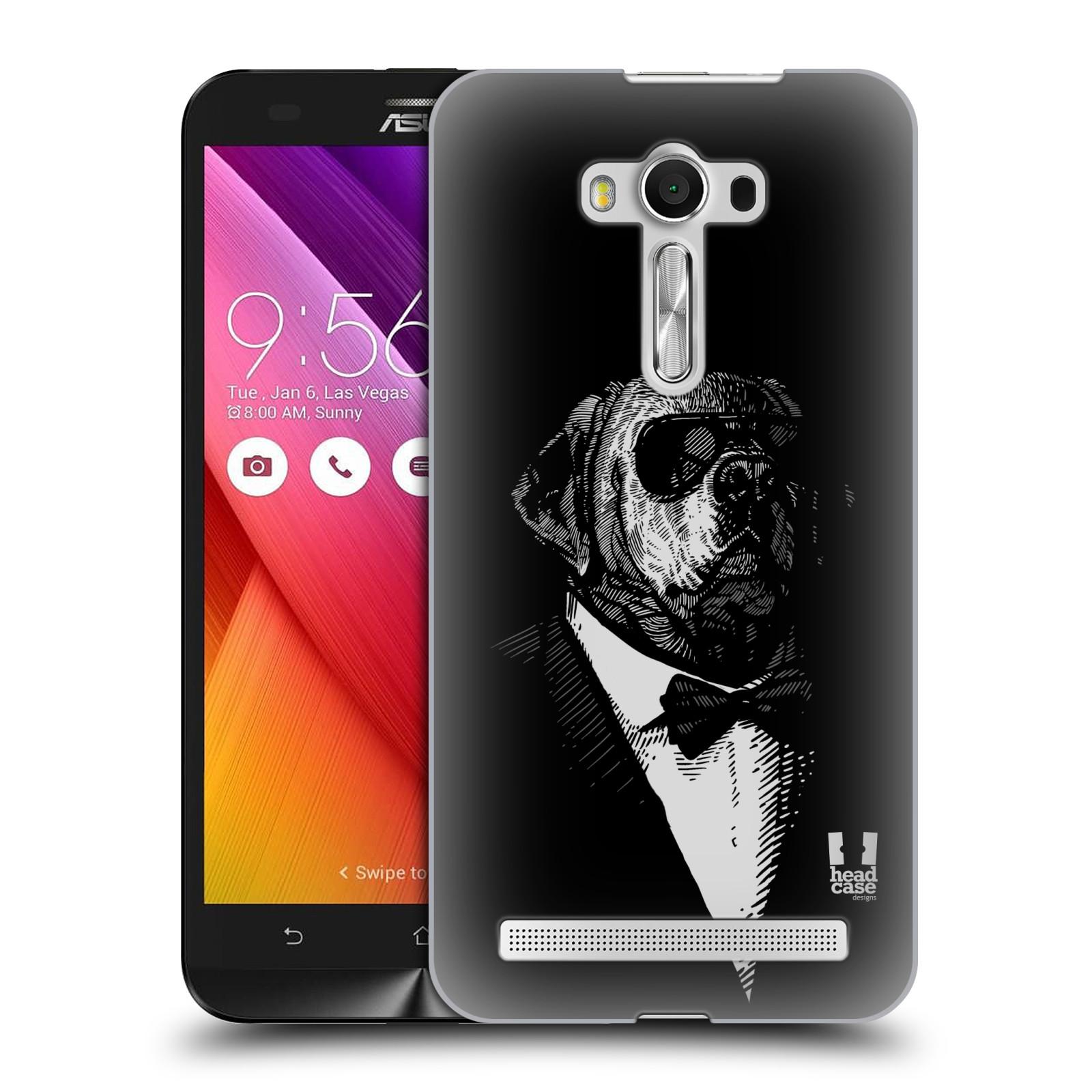 HEAD CASE plastový obal na mobil Asus Zenfone 2 LASER (5,5 displej ZE550KL) vzor Zvíře v obleku pes