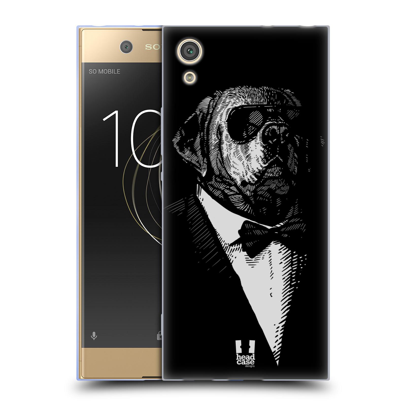 HEAD CASE silikonový obal na mobil Sony Xperia XA1 / XA1 DUAL SIM vzor Zvíře v obleku pes