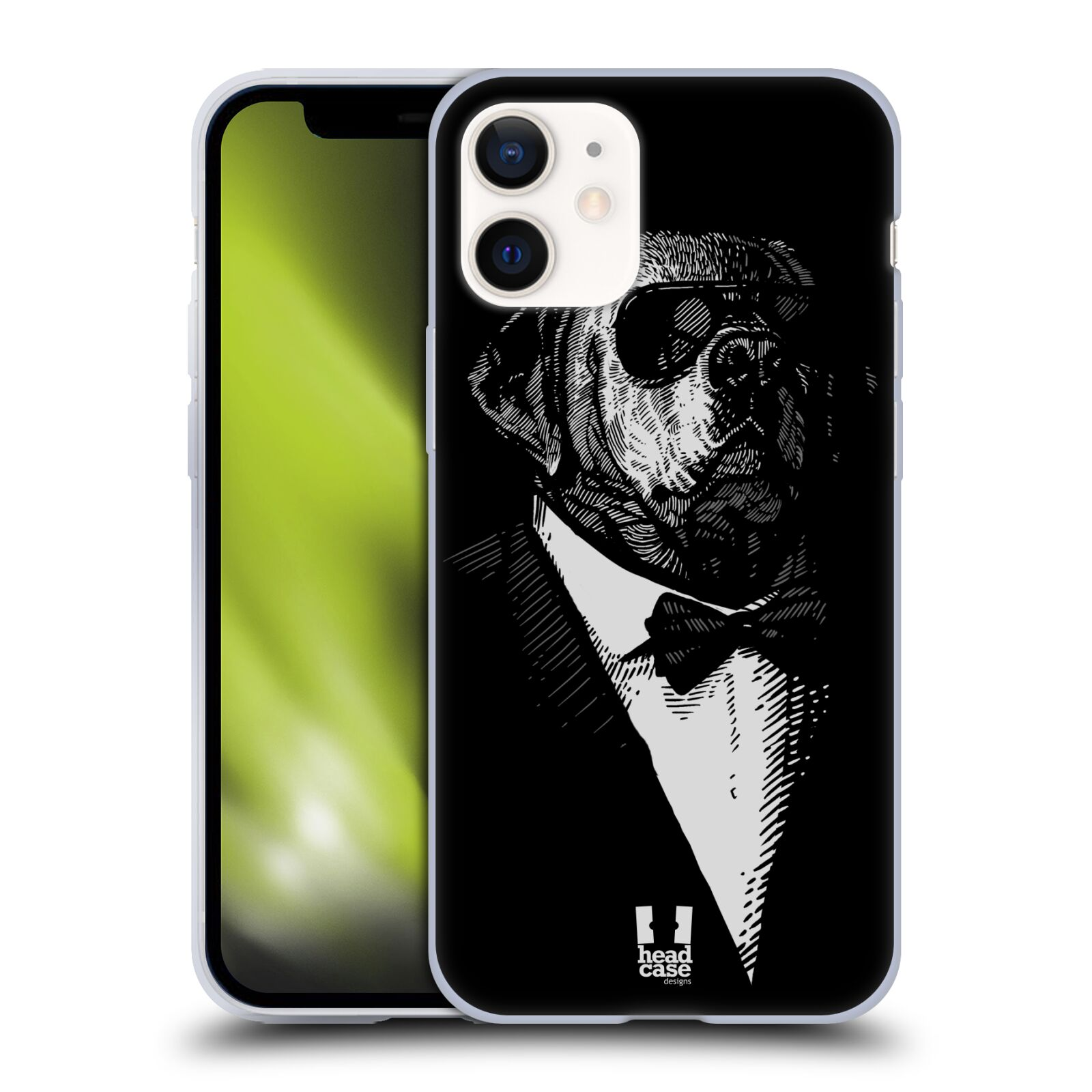 Plastový obal na mobil Apple Iphone 12 MINI vzor Zvíře v obleku pes