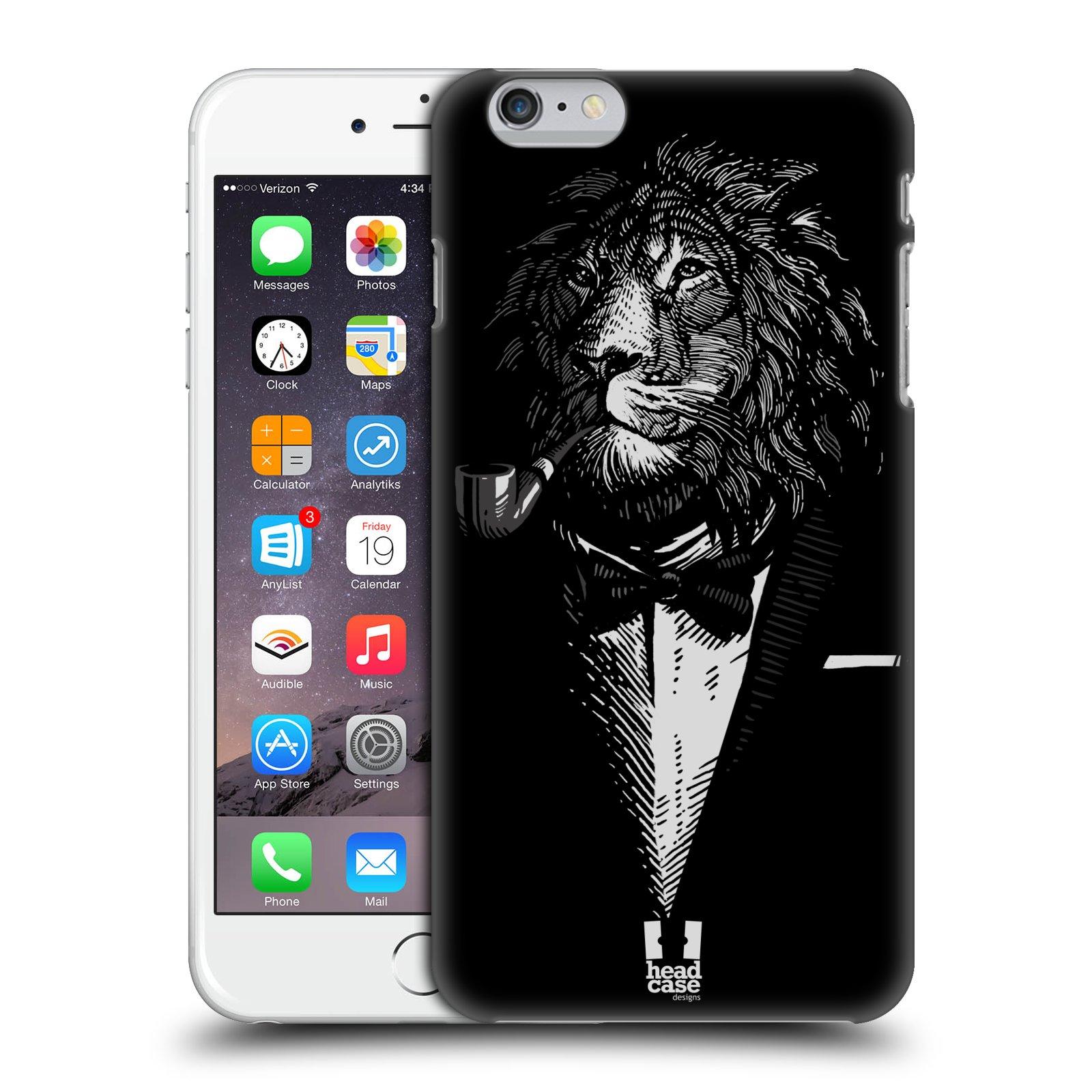 Plastové pouzdro pro mobil Apple Iphone 6 PLUS / 6S PLUS vzor Zvíře v obleku lev