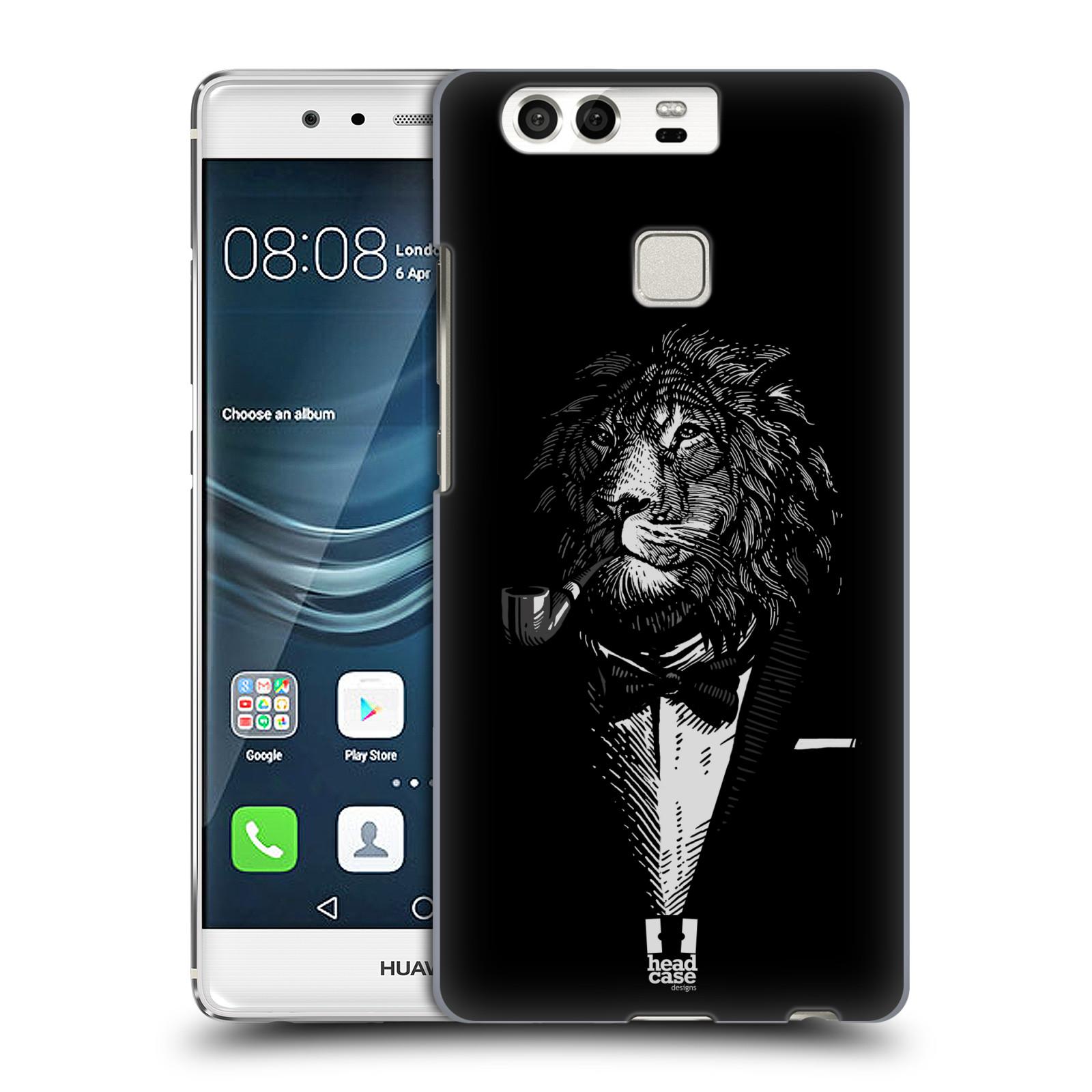 HEAD CASE plastový obal na mobil Huawei P9 / P9 DUAL SIM vzor Zvíře v obleku lev