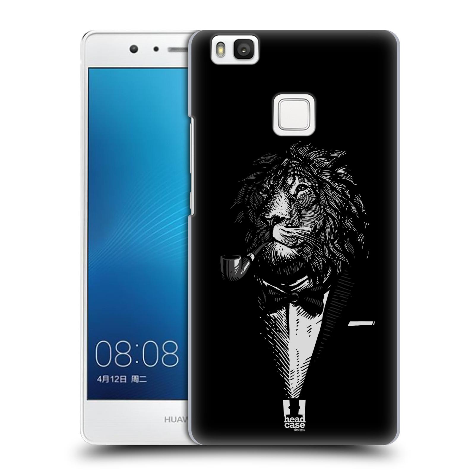 HEAD CASE plastový obal na mobil Huawei P9 LITE / P9 LITE DUAL SIM vzor Zvíře v obleku lev