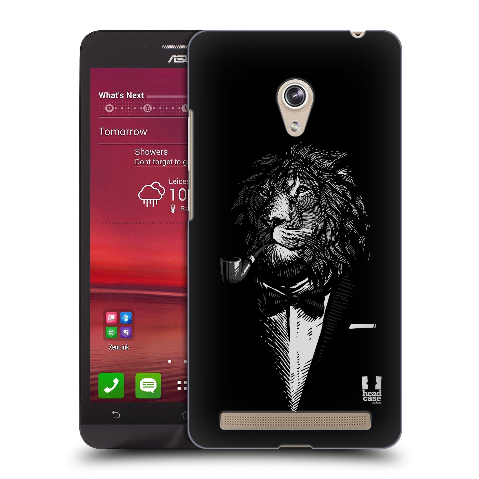 HEAD CASE plastový obal na mobil Asus Zenfone 6 vzor Zvíře v obleku lev