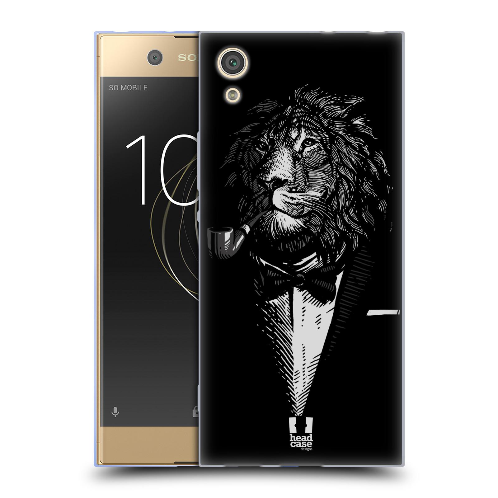 HEAD CASE silikonový obal na mobil Sony Xperia XA1 / XA1 DUAL SIM vzor Zvíře v obleku lev