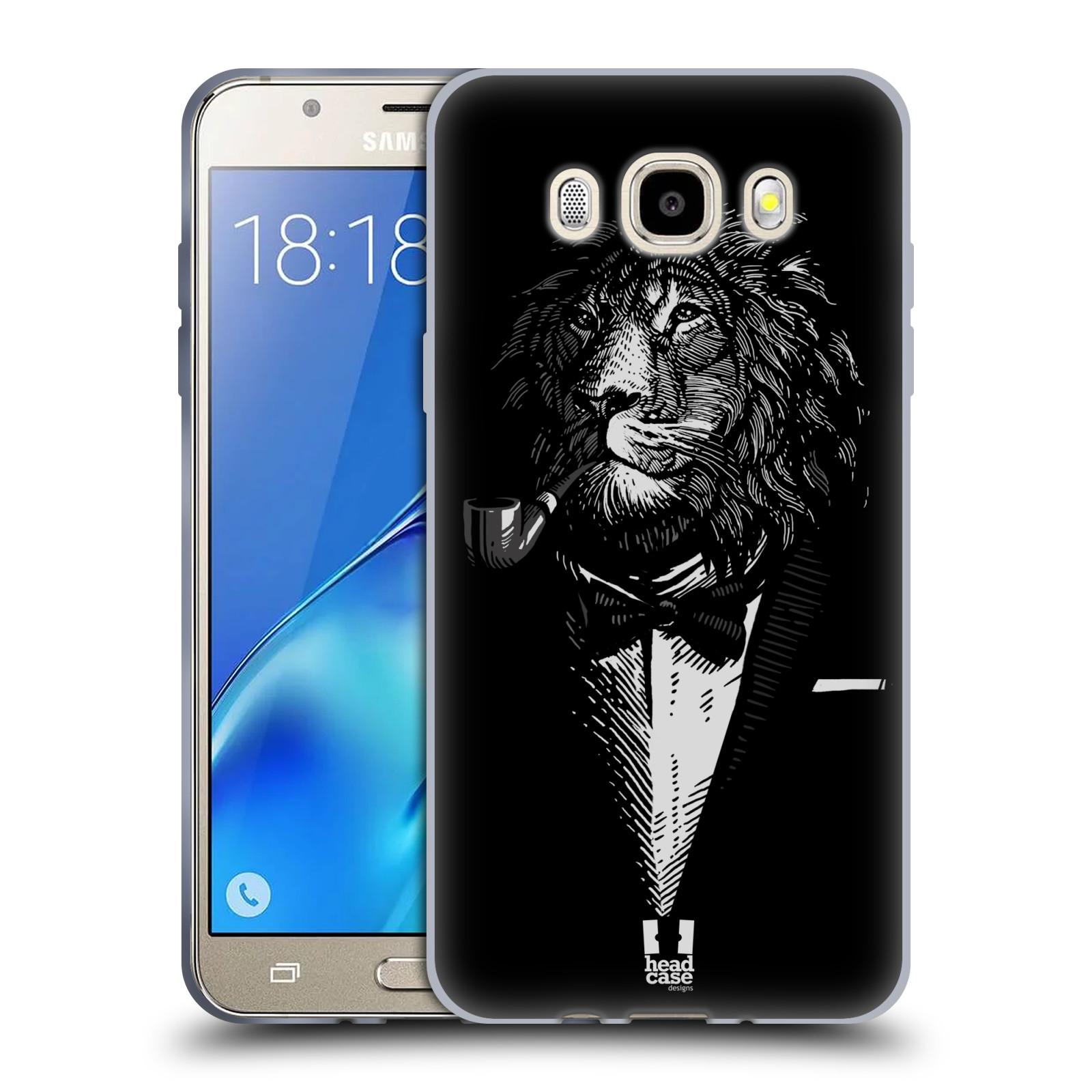 HEAD CASE silikonový obal, kryt na mobil Samsung Galaxy J5 2016, J510, J510F, (J510F DUAL SIM) vzor Zvíře v obleku lev