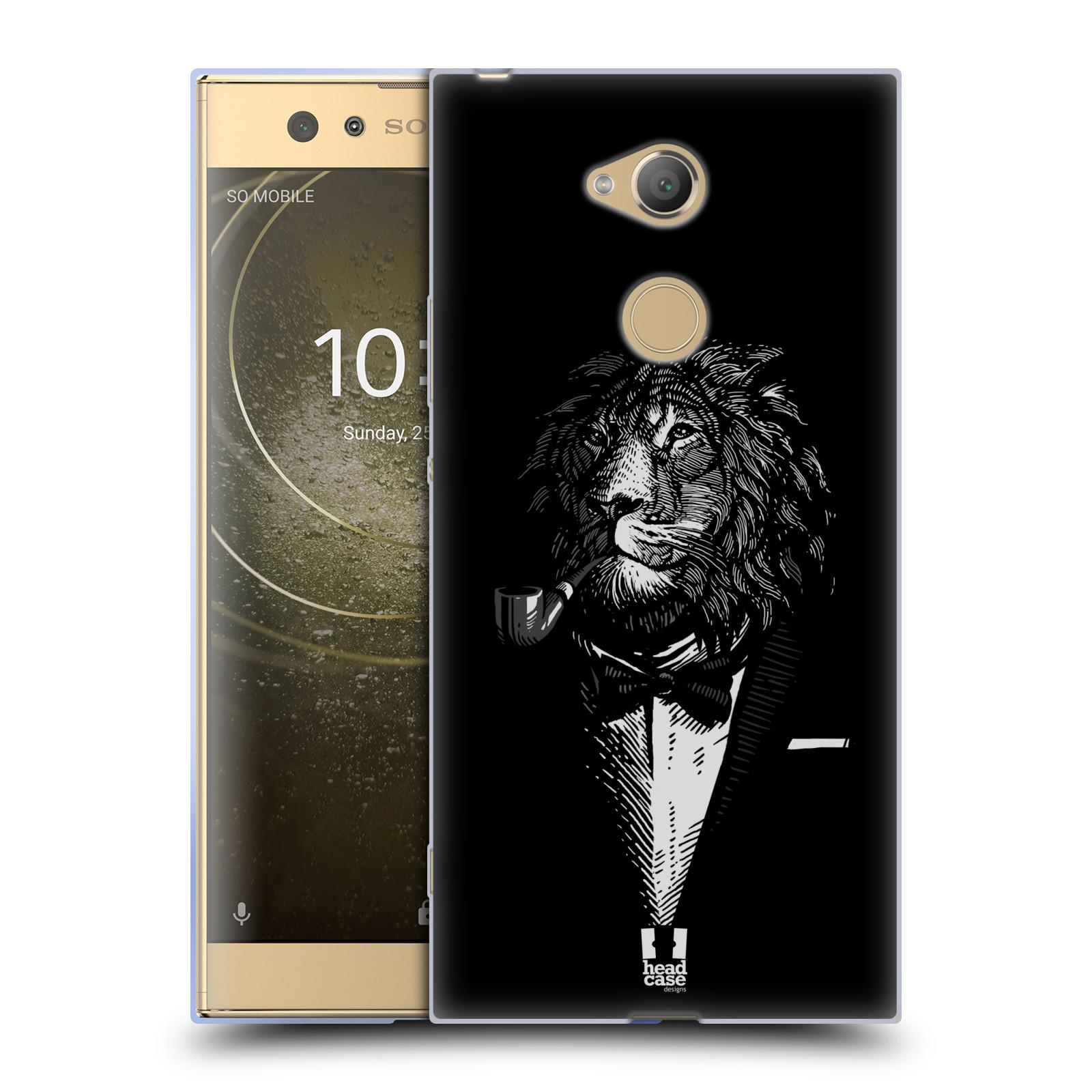 Pouzdro na mobil Sony Xperia XA2 Ultra vzor Zvíře v obleku lev