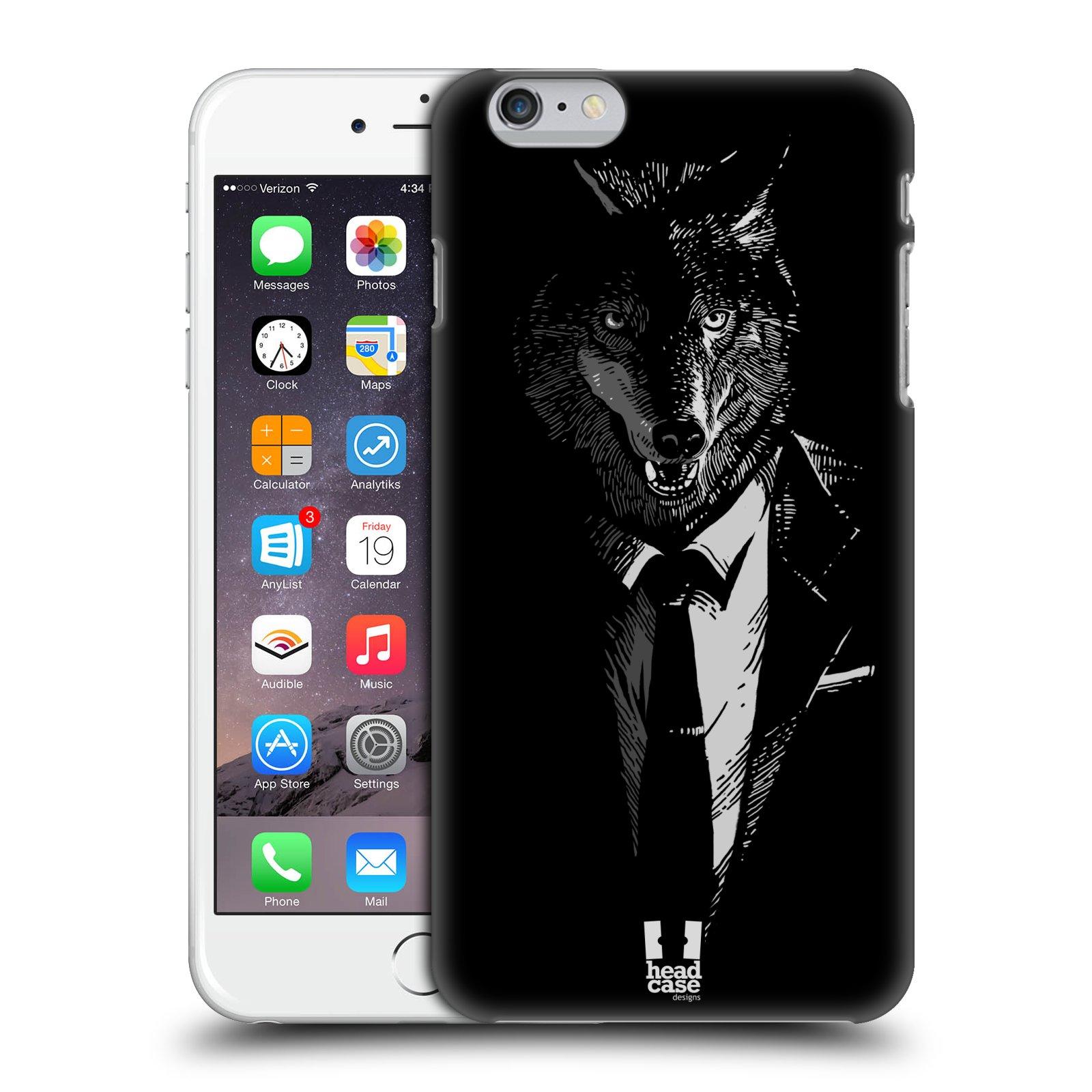 Plastové pouzdro pro mobil Apple Iphone 6 PLUS / 6S PLUS vzor Zvíře v obleku vlk