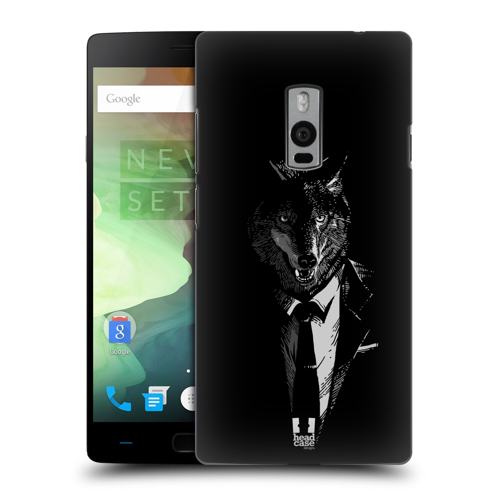HEAD CASE pevný plastový obal na mobil OnePlus 2  ( TWO ) vzor Zvíře v obleku vlk