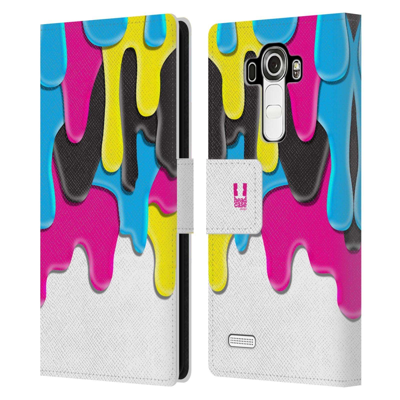 HEAD CASE Flipové pouzdro pro mobil LG G4 (H815) ZÁPLAVA BARVA MIX barev