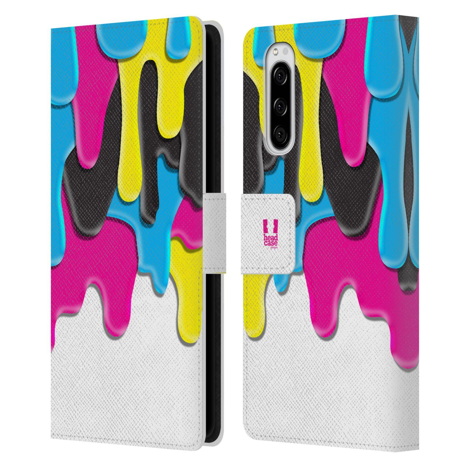 Pouzdro na mobil Sony Xperia 5 ZÁPLAVA BARVA MIX barev