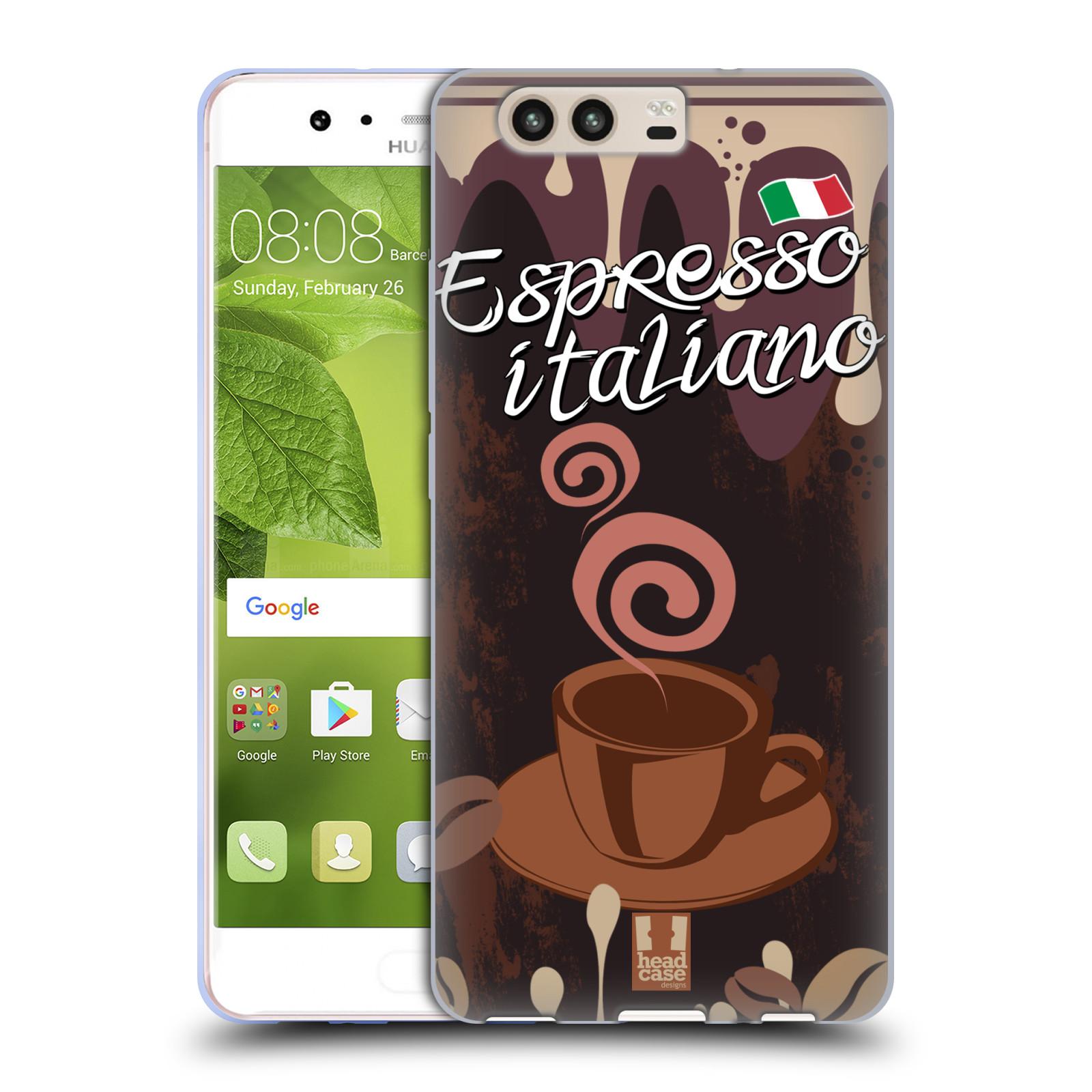 HEAD-CASE-DESIGNS-COFFEE-ADDICT-COVER-MORBIDA-IN-GEL-PER-HUAWEI-P10