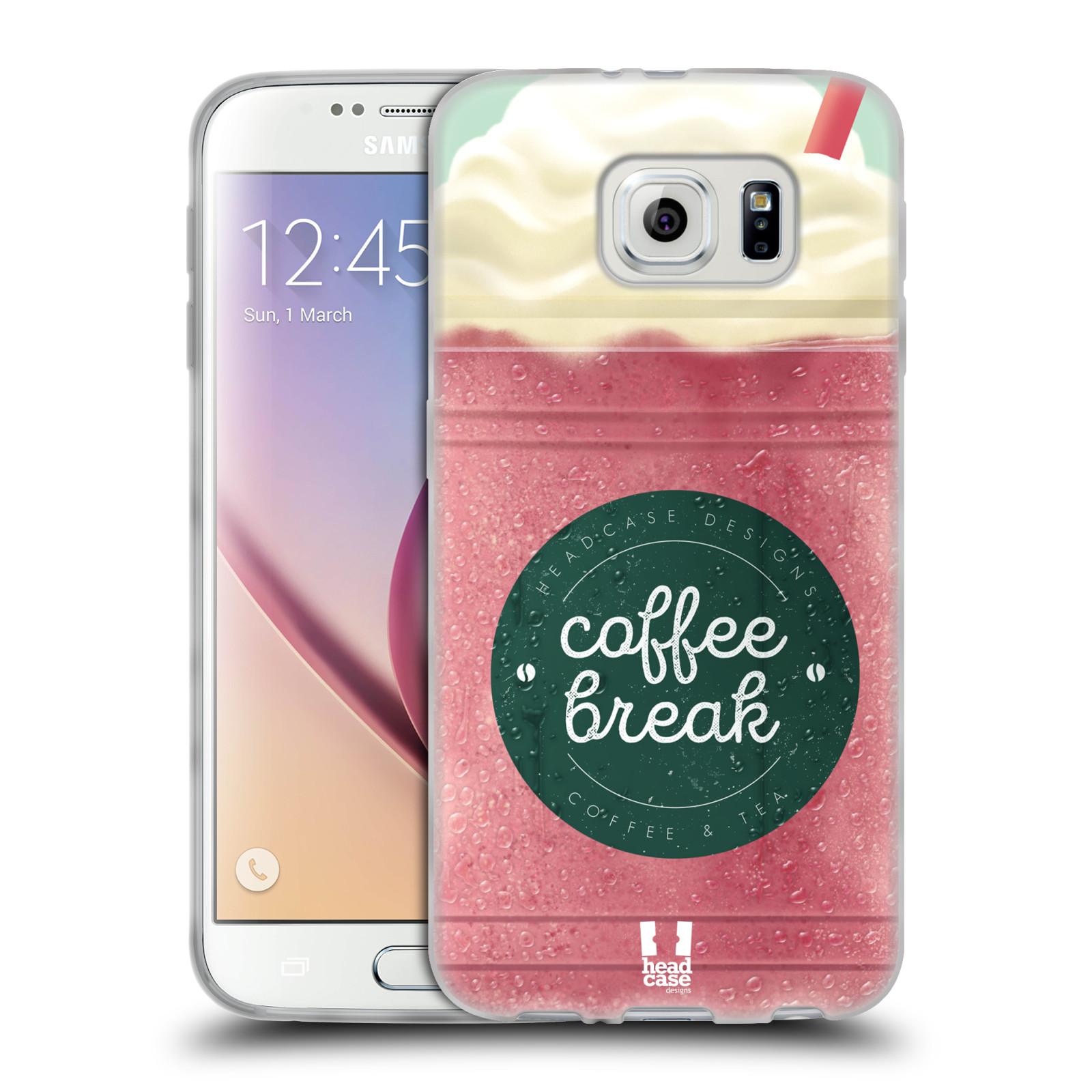 HEAD CASE DESIGNS COFFEE CUPS SOFT GEL CASE FOR SAMSUNG PHONES 1