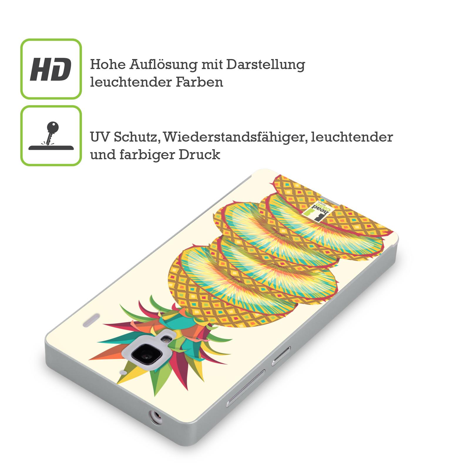 HEAD-CASE-DESIGNS-BUNTEN-FRUCHTE-SILBER-RAHMEN-HULLE-FUR-HUAWEI-XIAOMI-HANDYS