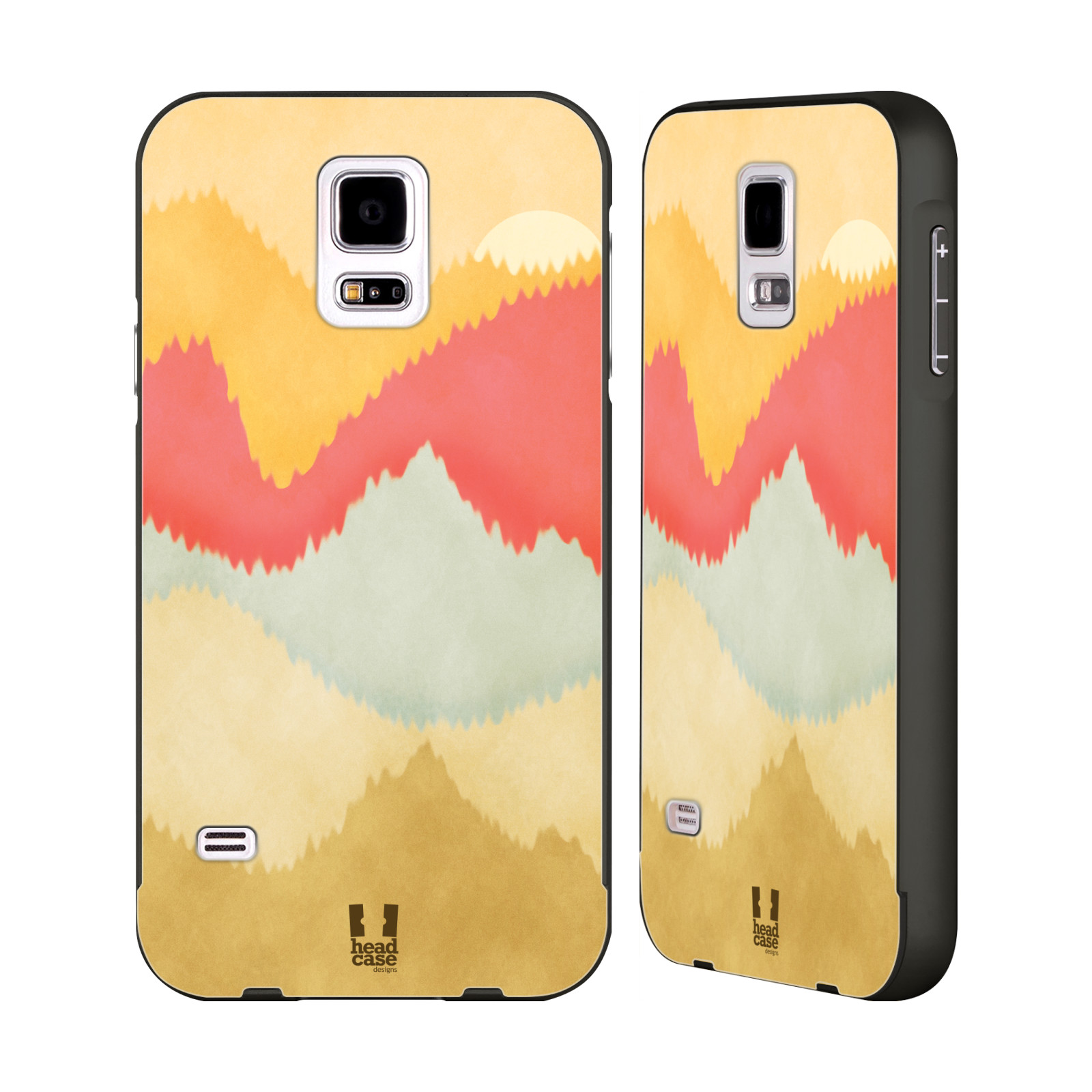 HEAD-CASE-DESIGNS-COLOURFUL-MOUNTAINS-BLACK-SLIDER-CASE-FOR-SAMSUNG-PHONES