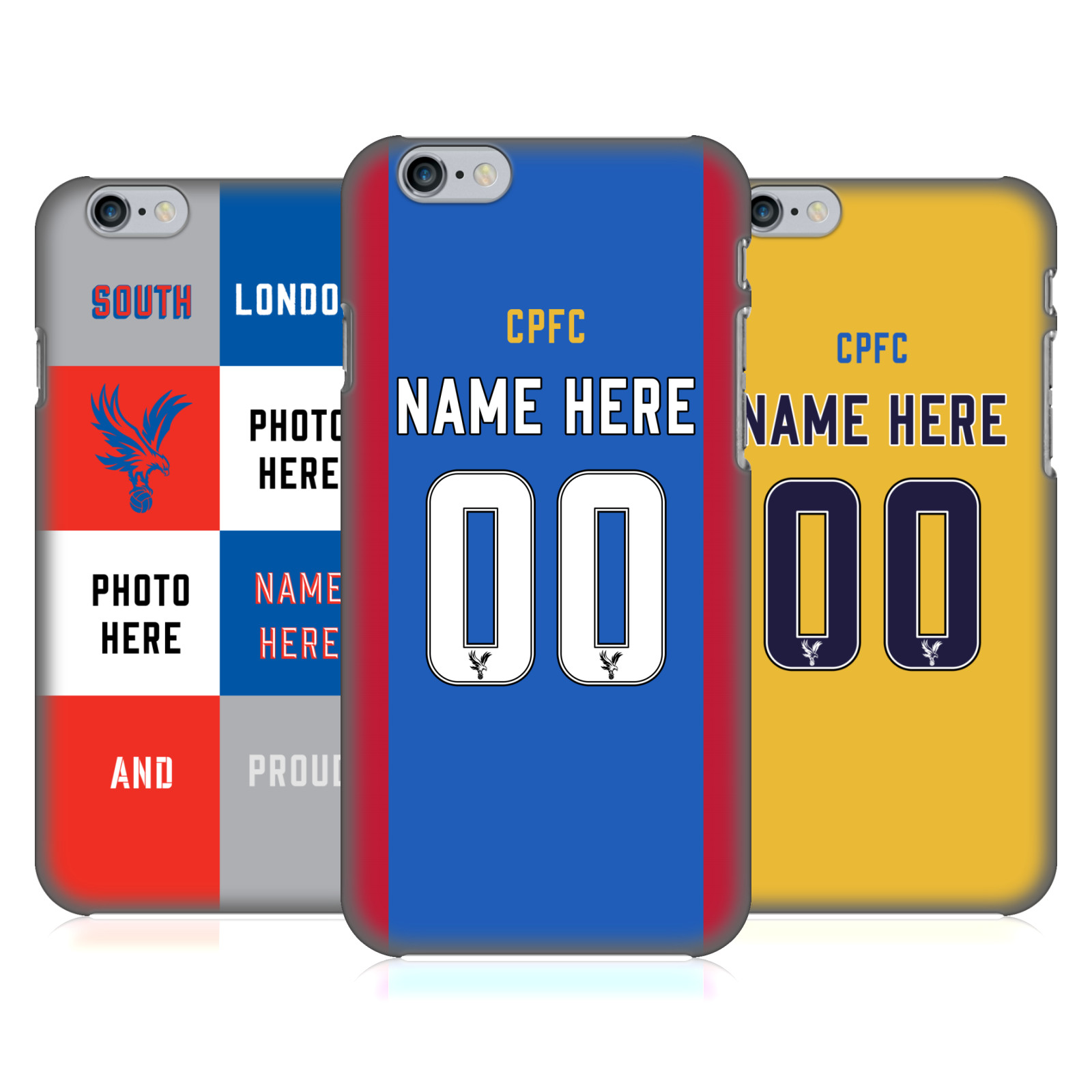 Crystal Palace FC CPFC 2016/17 Custom Case