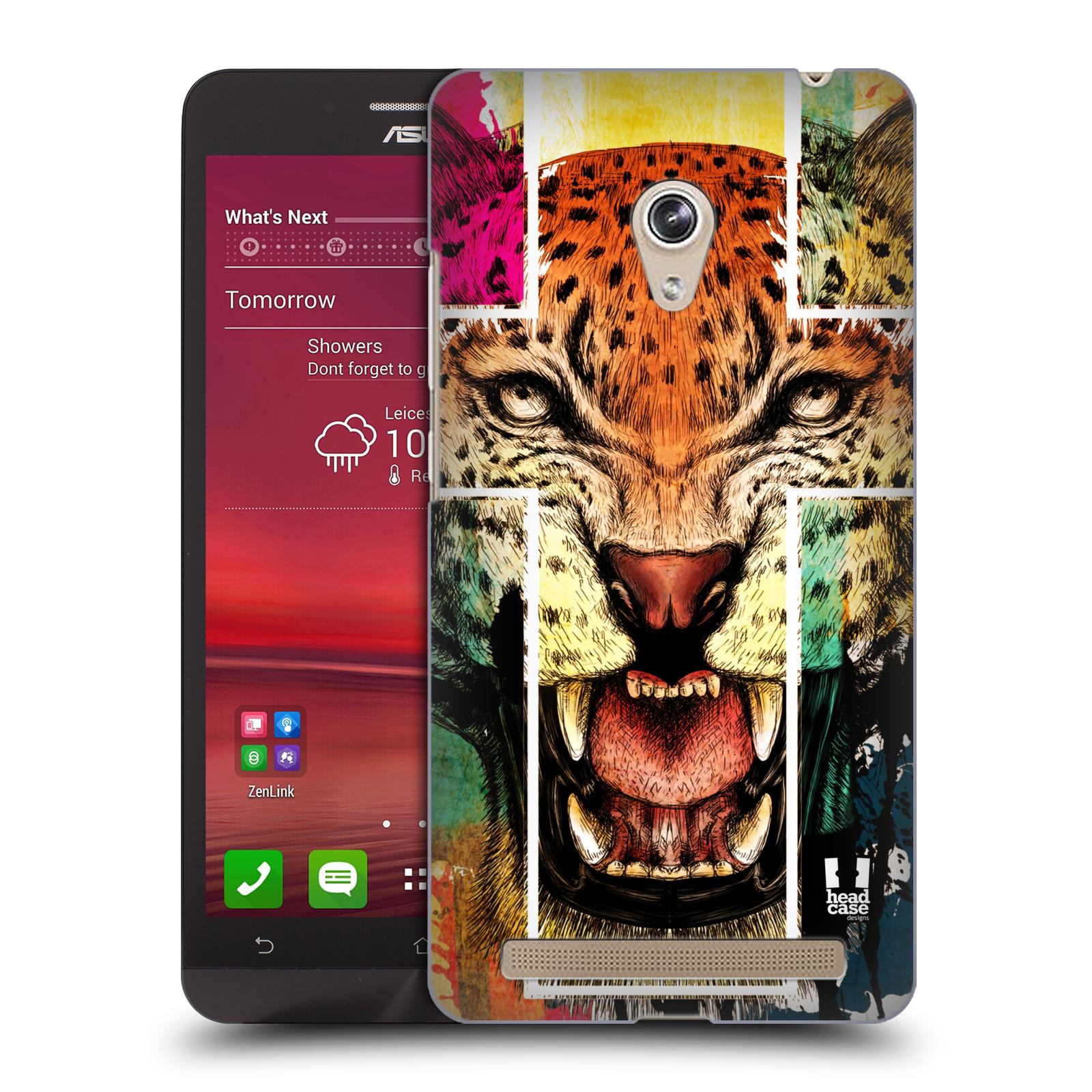 HEAD CASE plastový obal na mobil Asus Zenfone 6 vzor Kříž a leopard