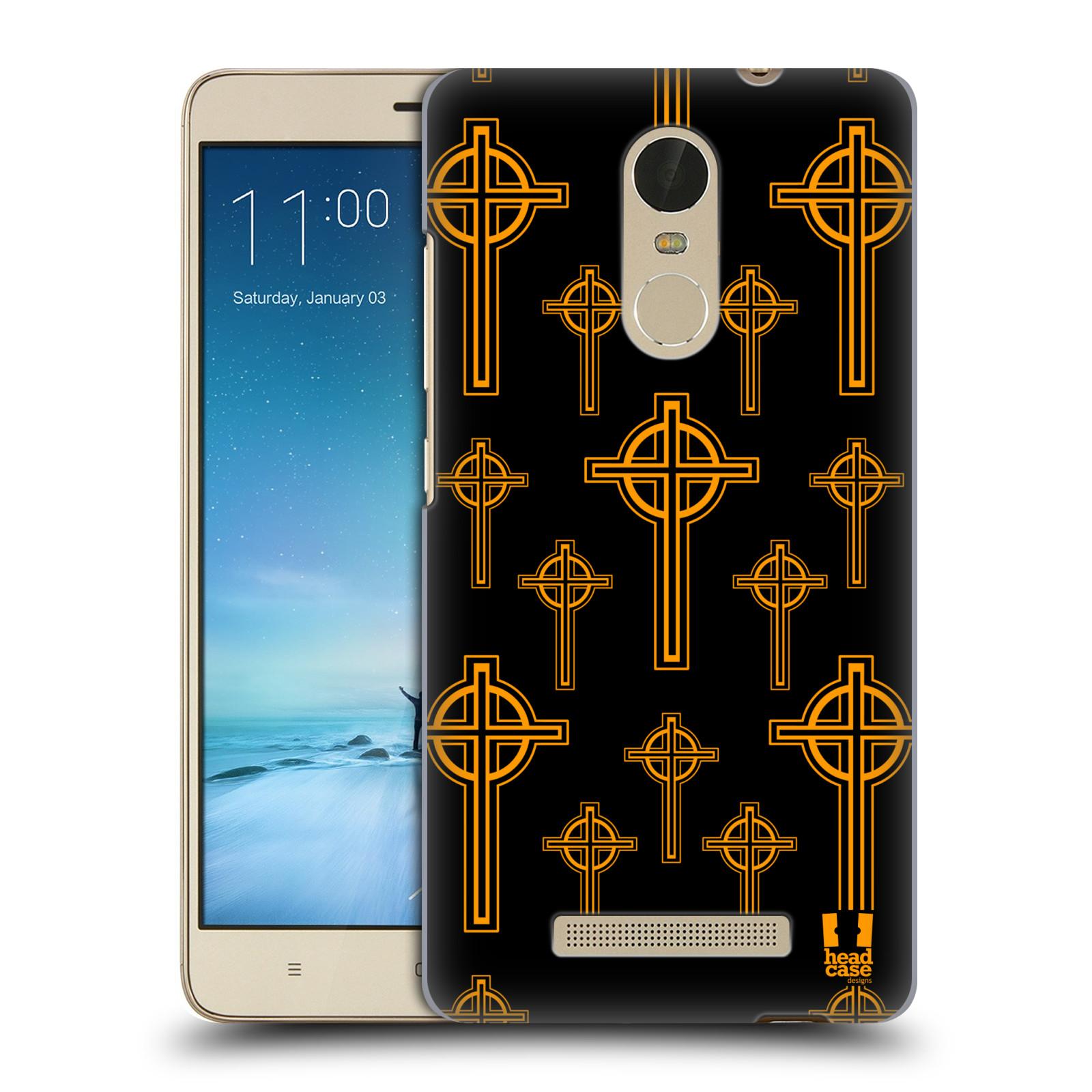 HEAD CASE plastový obal na mobil XIAOMI Redmi NOTE 3 vzor Kříž Cross KELTSKÝ KŘÍŽ