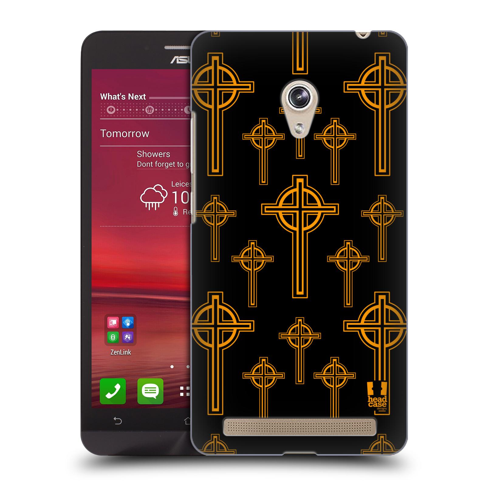 HEAD CASE plastový obal na mobil Asus Zenfone 6 vzor Kříž Cross KELTSKÝ KŘÍŽ