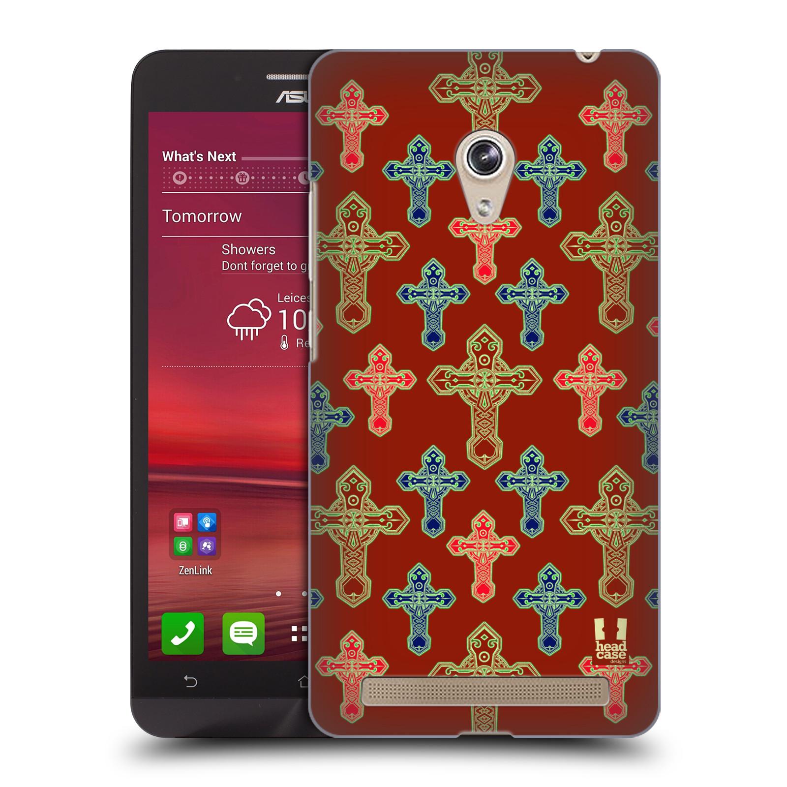 HEAD CASE plastový obal na mobil Asus Zenfone 6 vzor Kříž Cross KŘÍŽKY