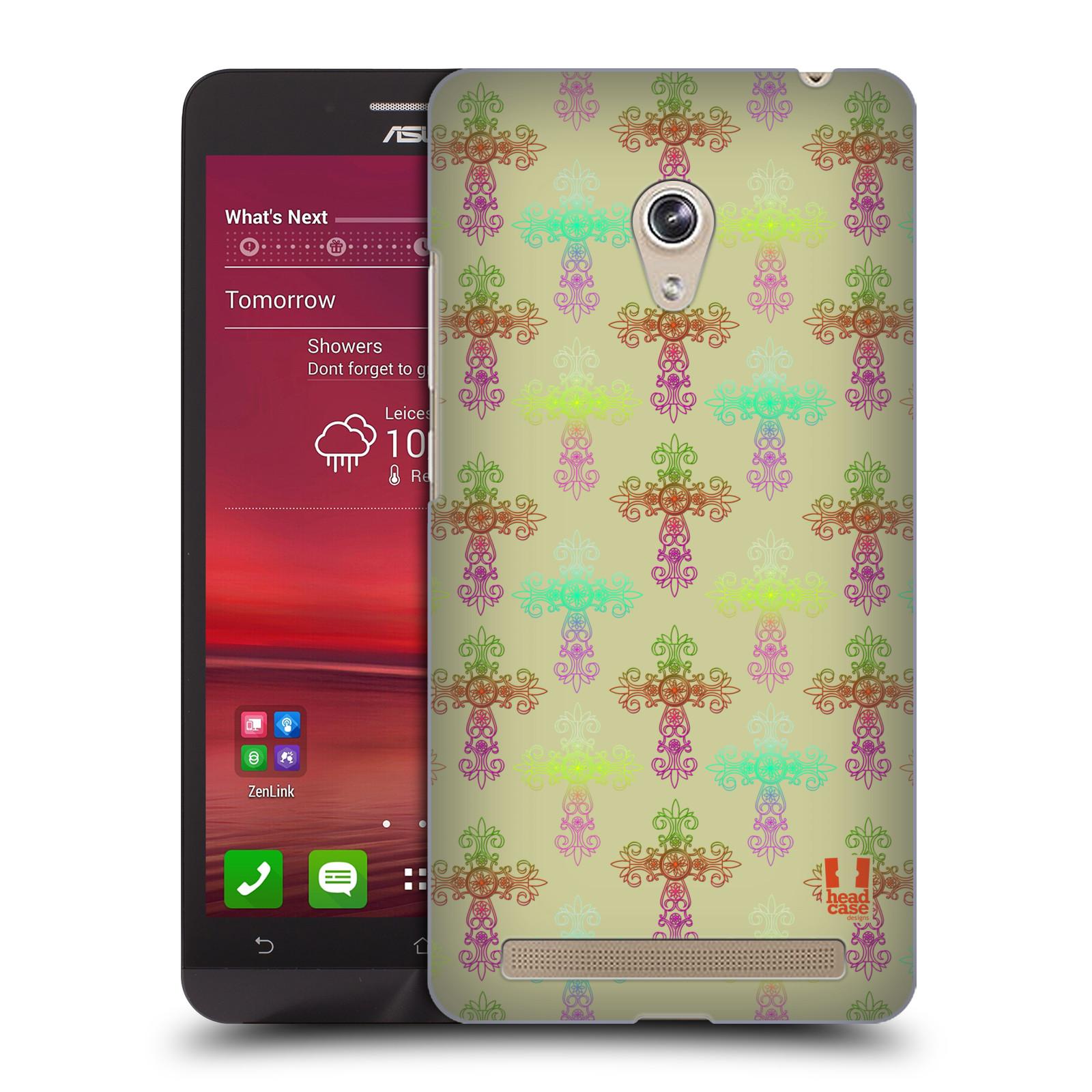 HEAD CASE plastový obal na mobil Asus Zenfone 6 vzor Kříž Cross DAMASK