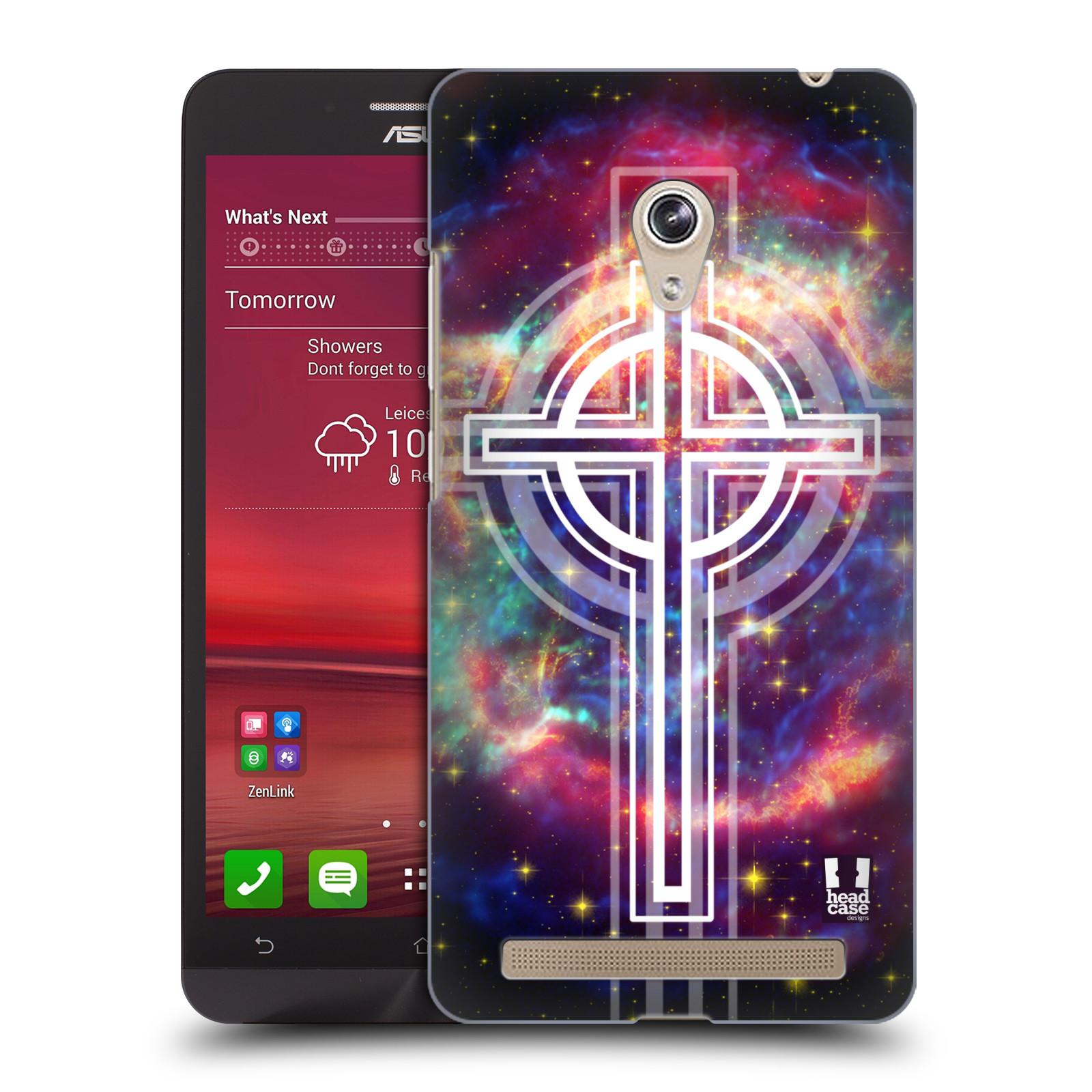 HEAD CASE plastový obal na mobil Asus Zenfone 6 vzor Kříž Cross KŘIŽ VESMÍR