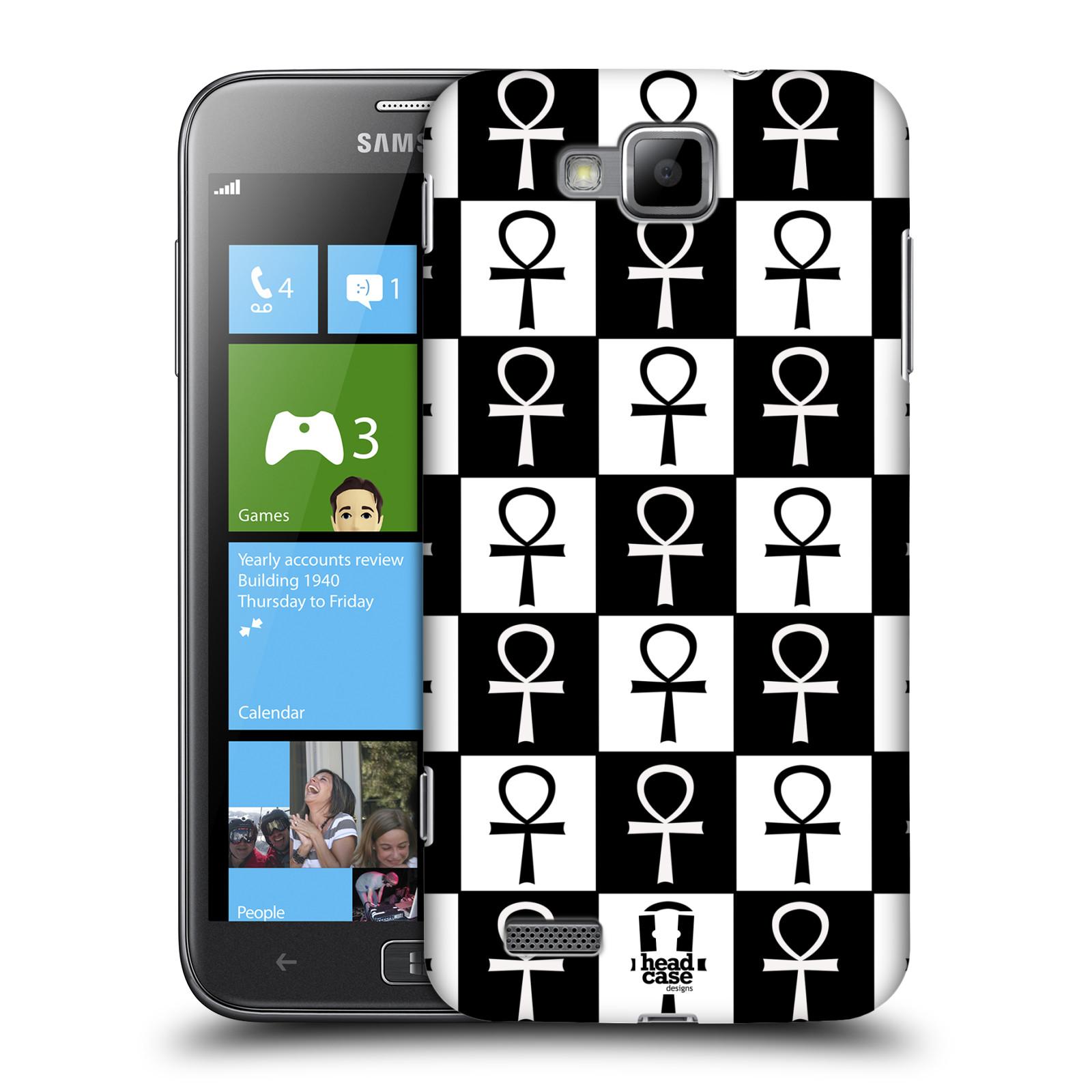 HEAD CASE plastový obal na mobil Samsung ATIV S vzor Kříž Cross KLÍČ ŽIVOTA