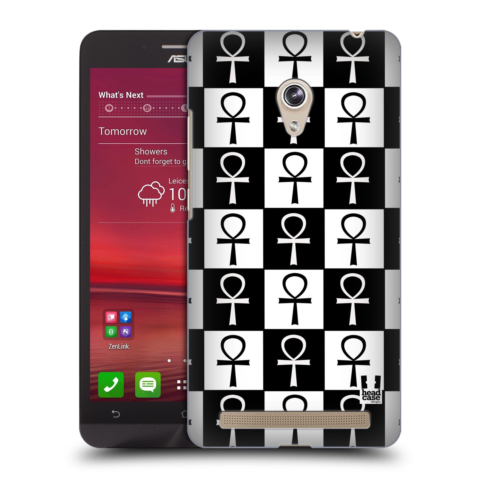 HEAD CASE plastový obal na mobil Asus Zenfone 6 vzor Kříž Cross KLÍČ ŽIVOTA