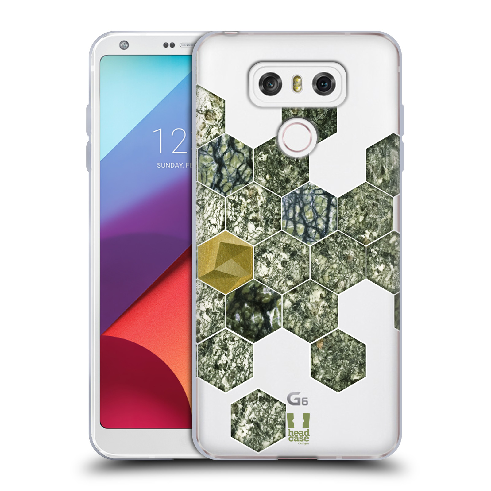 HEAD-CASE-DESIGNS-CLASSY-STONE-PRINTS-SOFT-GEL-CASE-FOR-LG-G6