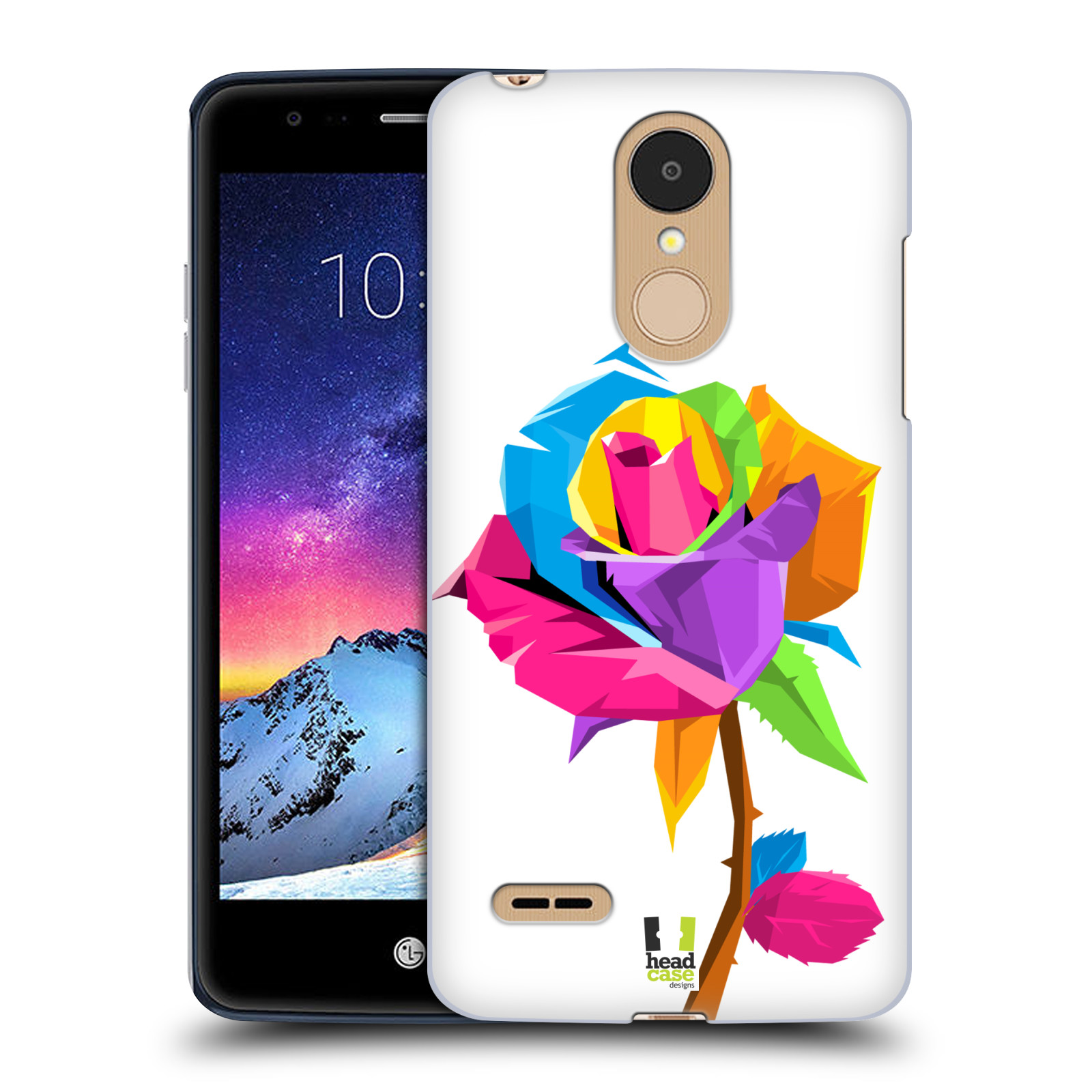 HEAD CASE plastový obal na mobil LG K9 / K8 2018 vzor POP ART kubismus růže