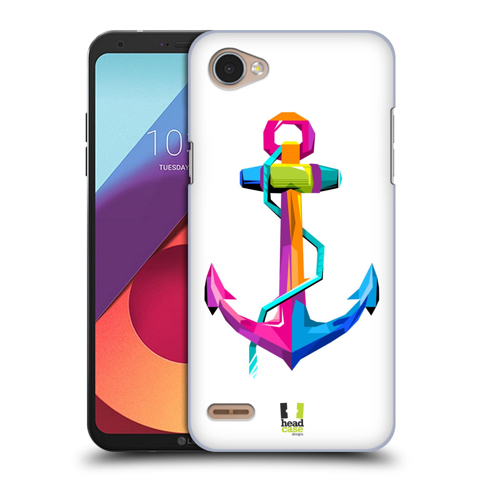 HEAD CASE plastový obal na mobil LG Q6 / Q6 PLUS vzor POP ART kubismus kotva naděje