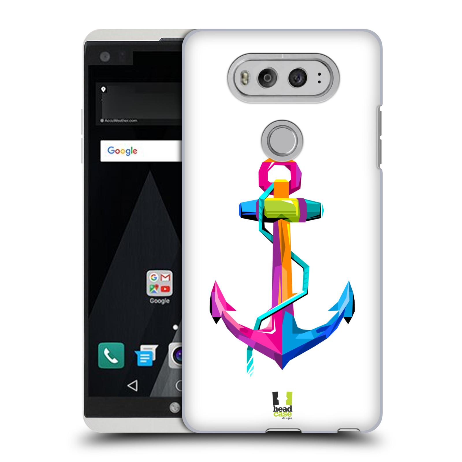 HEAD CASE plastový obal na mobil LG V20 vzor POP ART kubismus kotva naděje