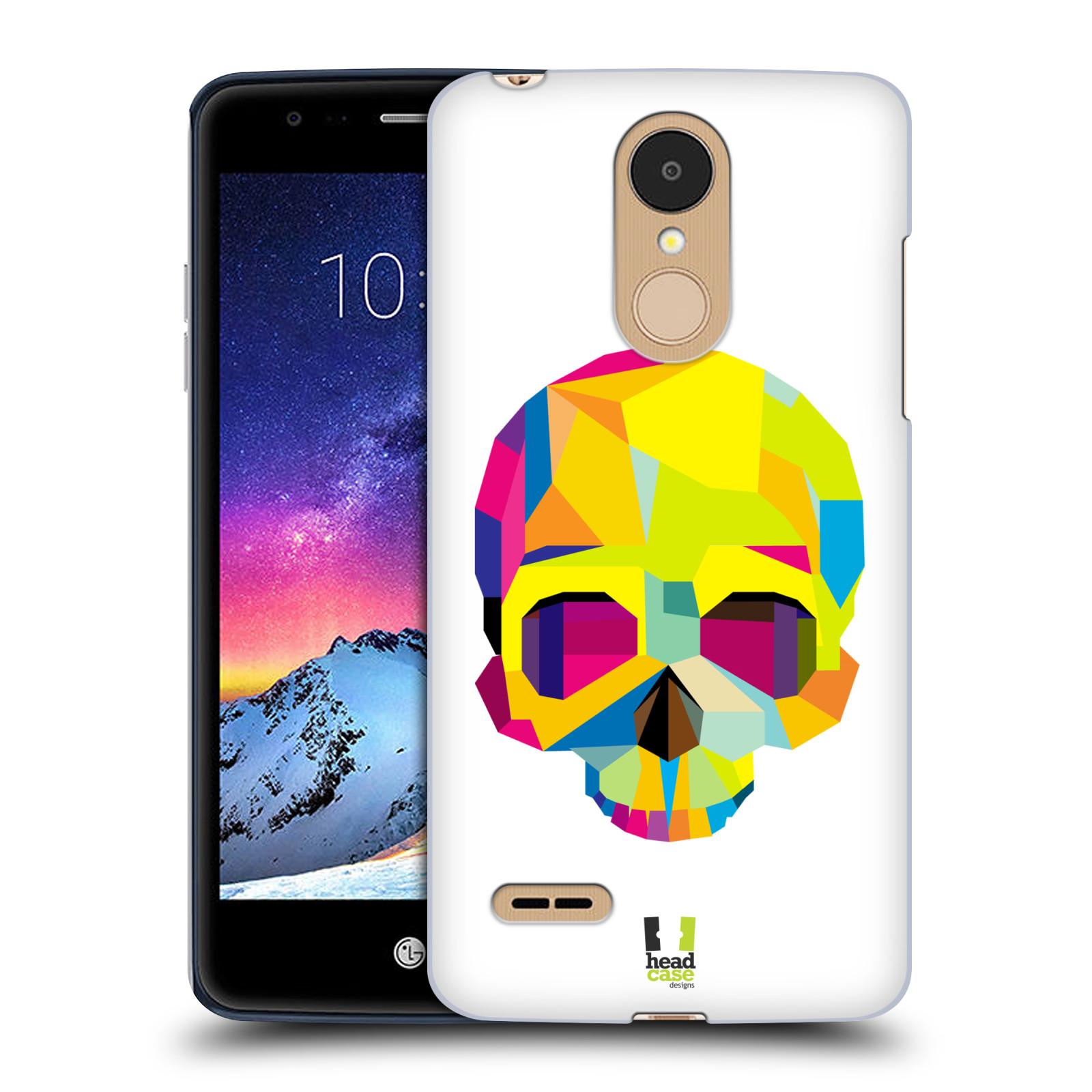 HEAD CASE plastový obal na mobil LG K9 / K8 2018 vzor POP ART kubismus smrtelnost