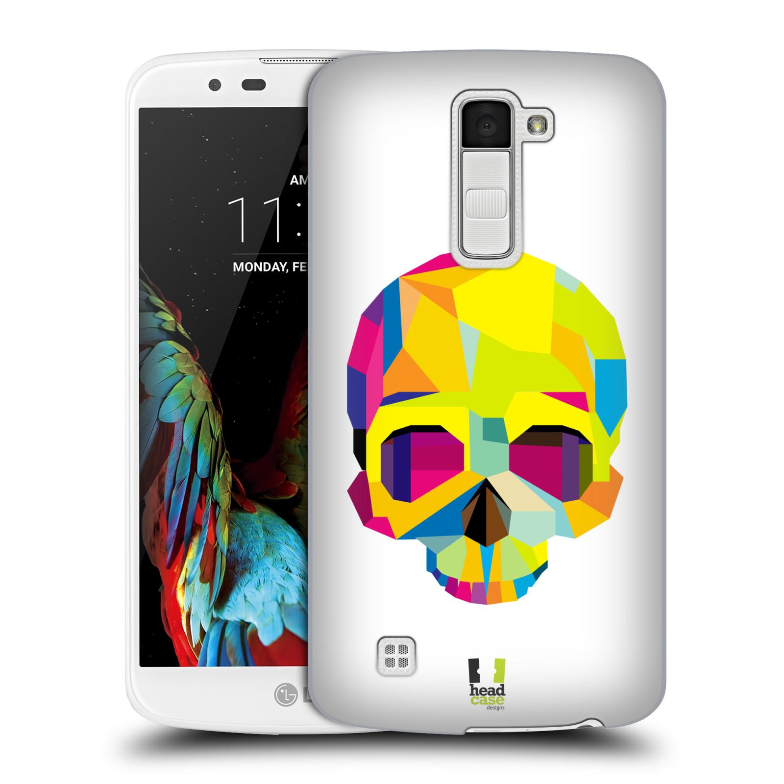 HEAD CASE plastový obal na mobil LG K10 vzor POP ART kubismus smrtelnost