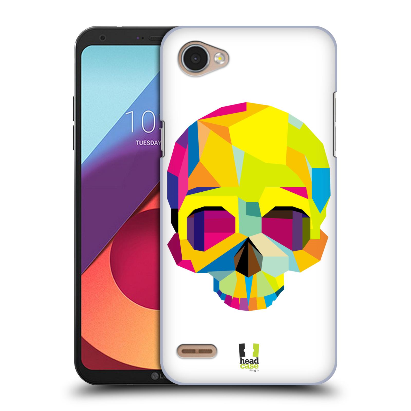 HEAD CASE plastový obal na mobil LG Q6 / Q6 PLUS vzor POP ART kubismus smrtelnost